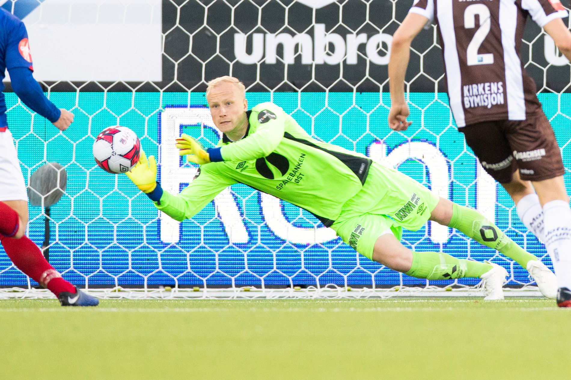 Julian Faye Lund i Mjøndalen-målet imponerte.