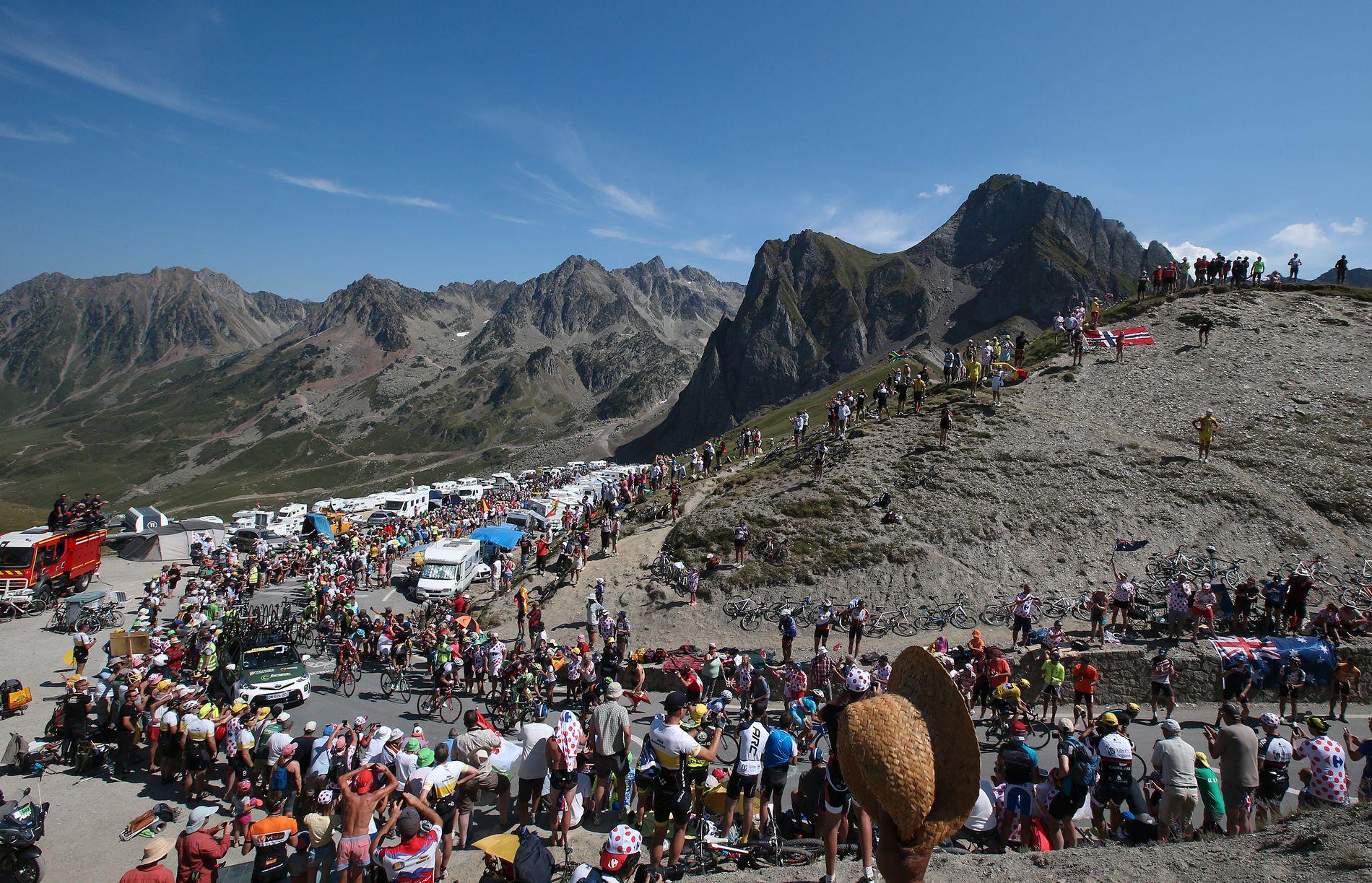 Col du Tourmalet er et legendarisk fjell i Tour de France-sammenheng. I år er fjellet igjen på programmet.