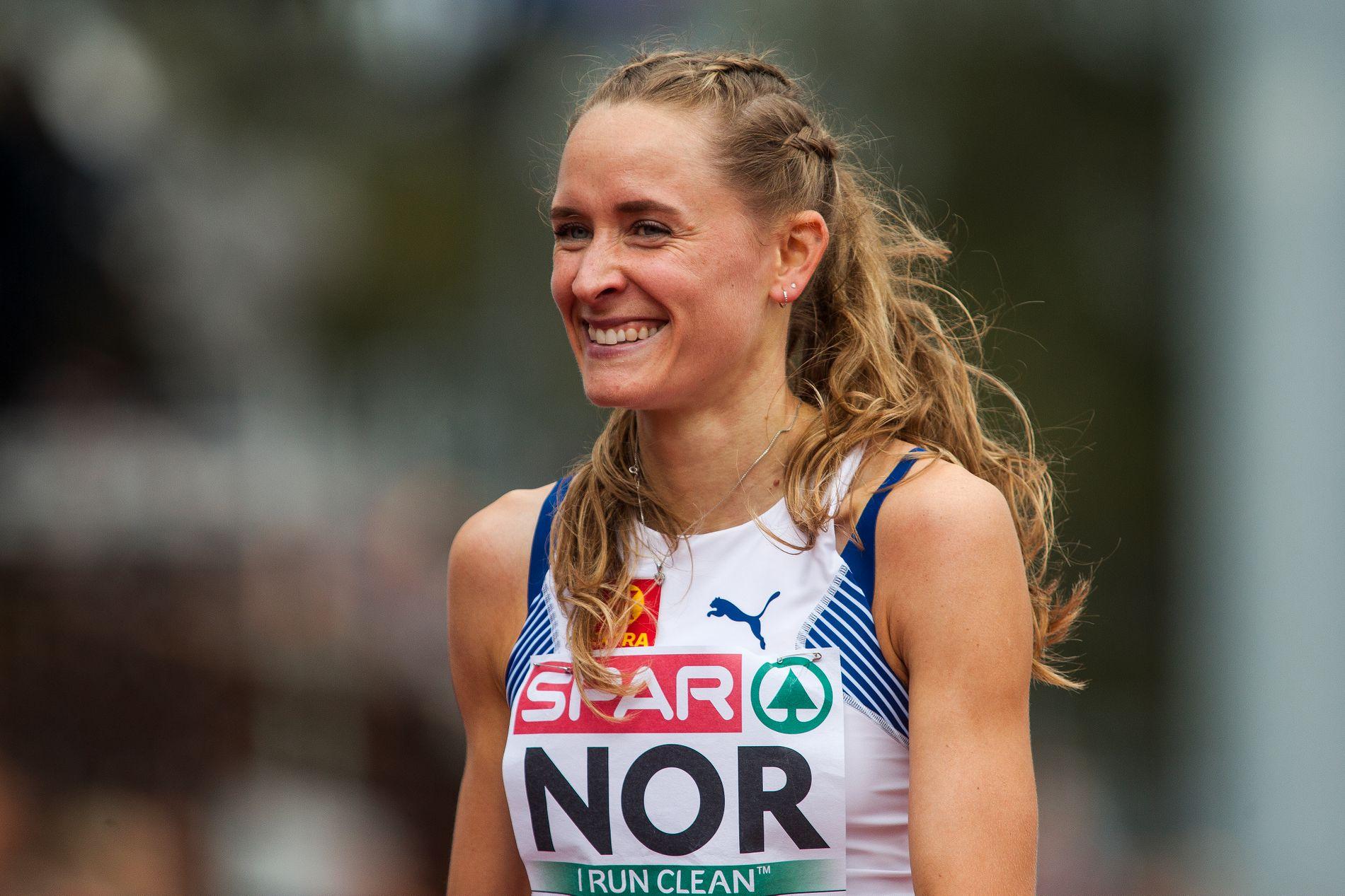Hedda Hynne løp i Zürich torsdag.