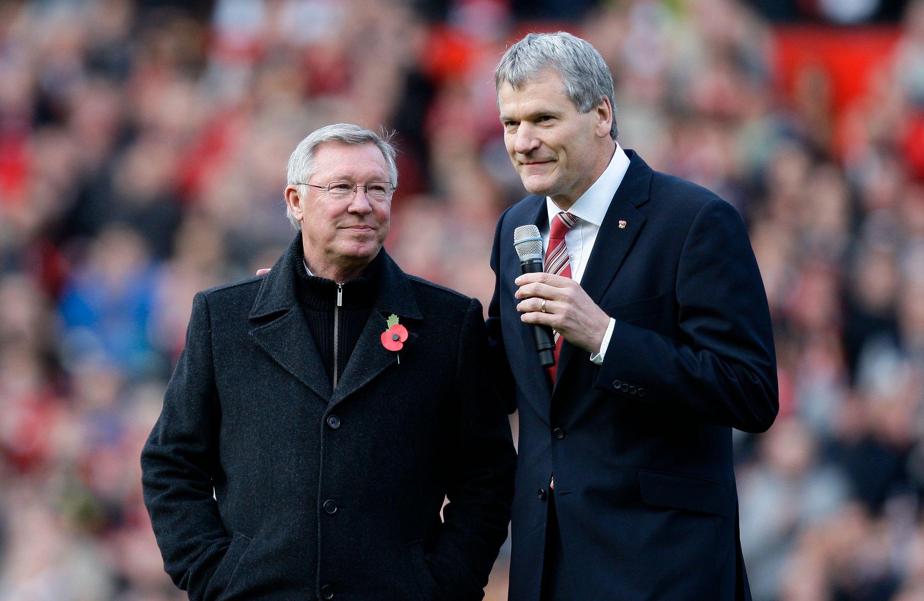 Alex Ferguson og David Gill utgjorde en kruttsterk duo på toppen i Manchester United.