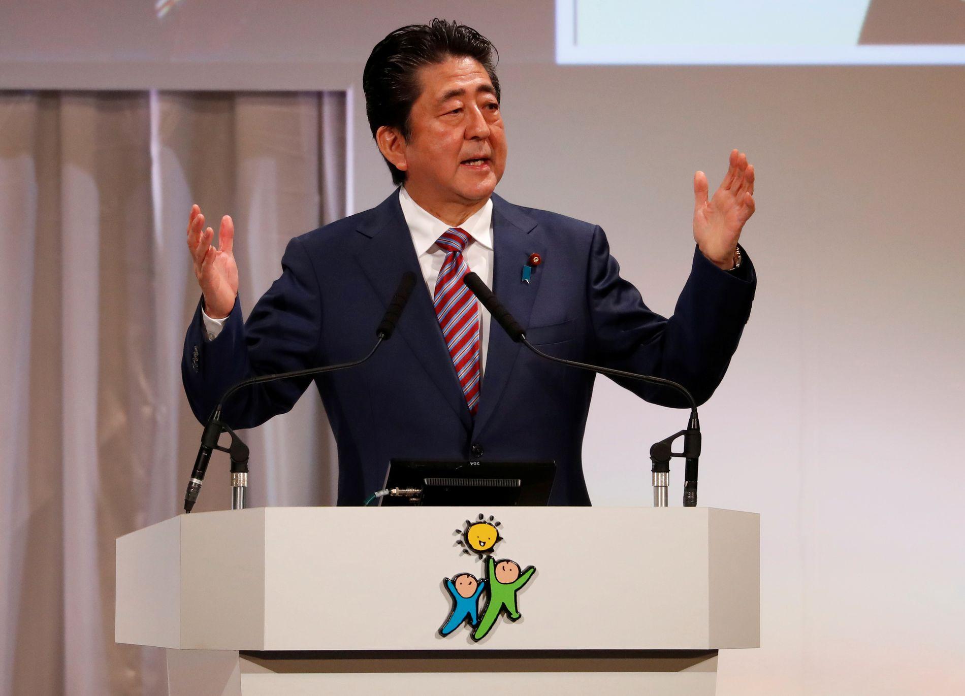JAPAN: Den sittende statsministeren Shinzo Abe kan gå løs på sin tredje treårsperiode etter det kommende valget av leder i regjeringspartiet LDP, skriver innsender.