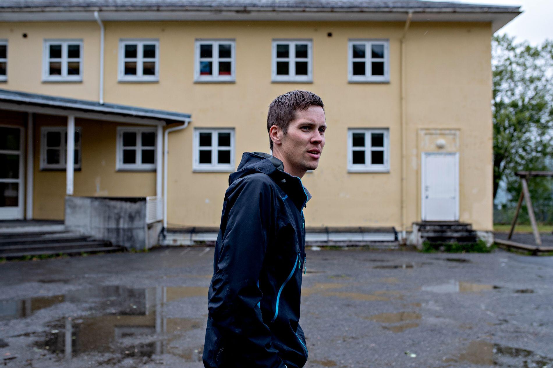 OVERGANG: Kampen for skulen var dropen som fekk Øystein Hessevik og resten av Bryggja til å melde overgang til nye Stad kommune.