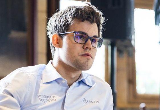 Magnus Carlsen gikk på et overraskende tap lørdag. Her fra en turnering tidligere i sommer.