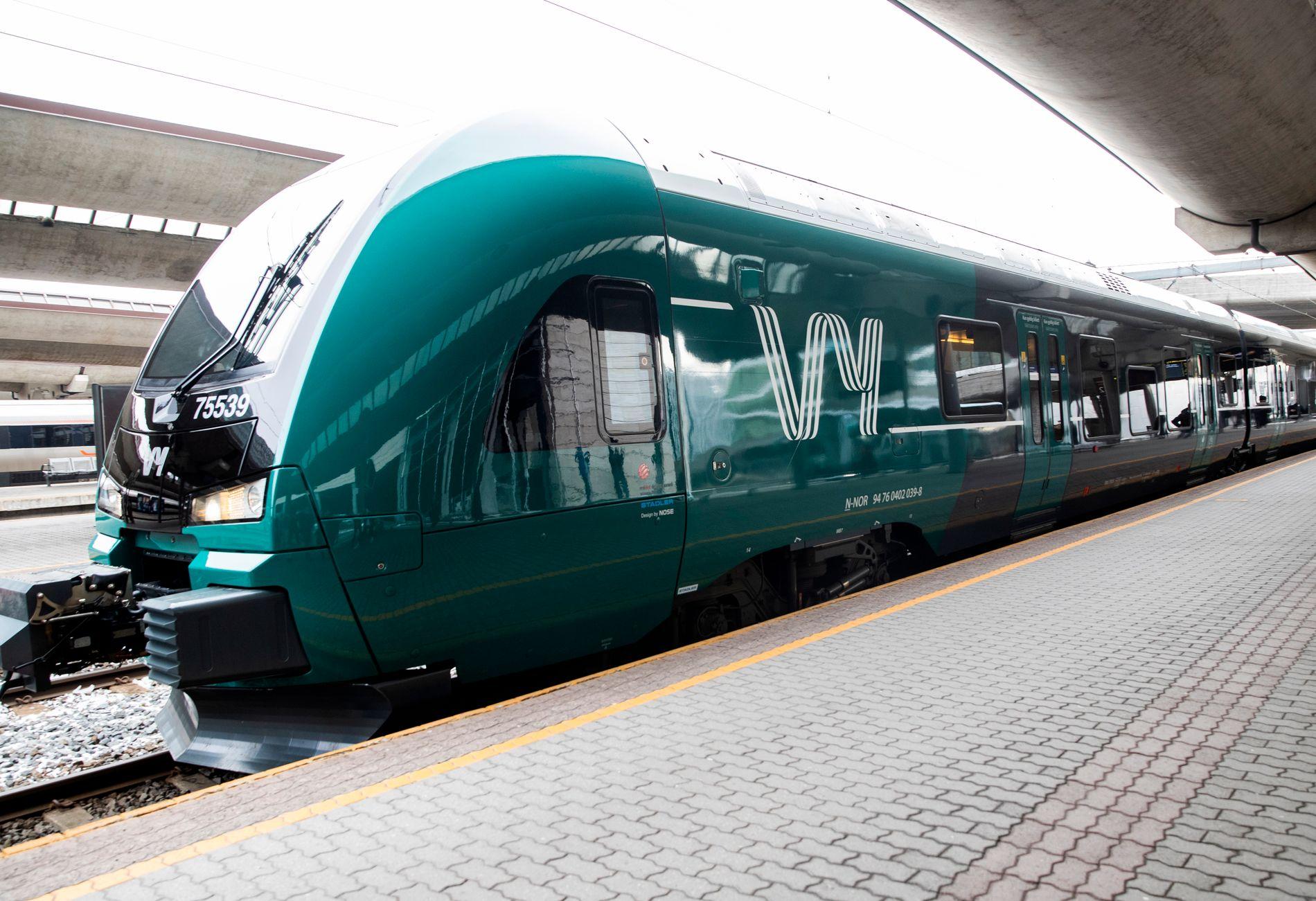 VY: Slik blir togene seende ut med NSBs nye navn og logo.