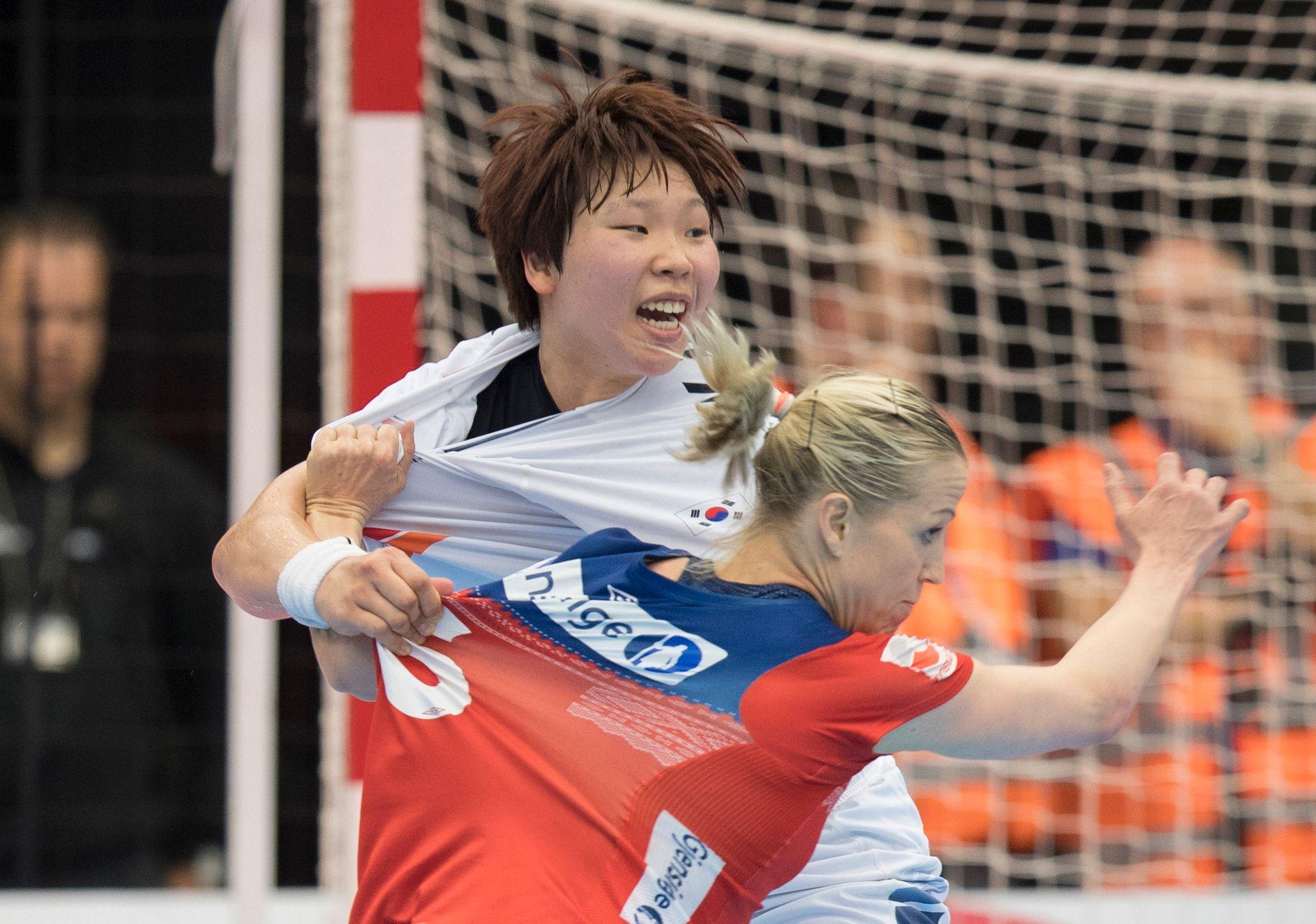 Det er ikke lett å stoppe Heidi Løke. Sørkoreaneren greide det ikke.