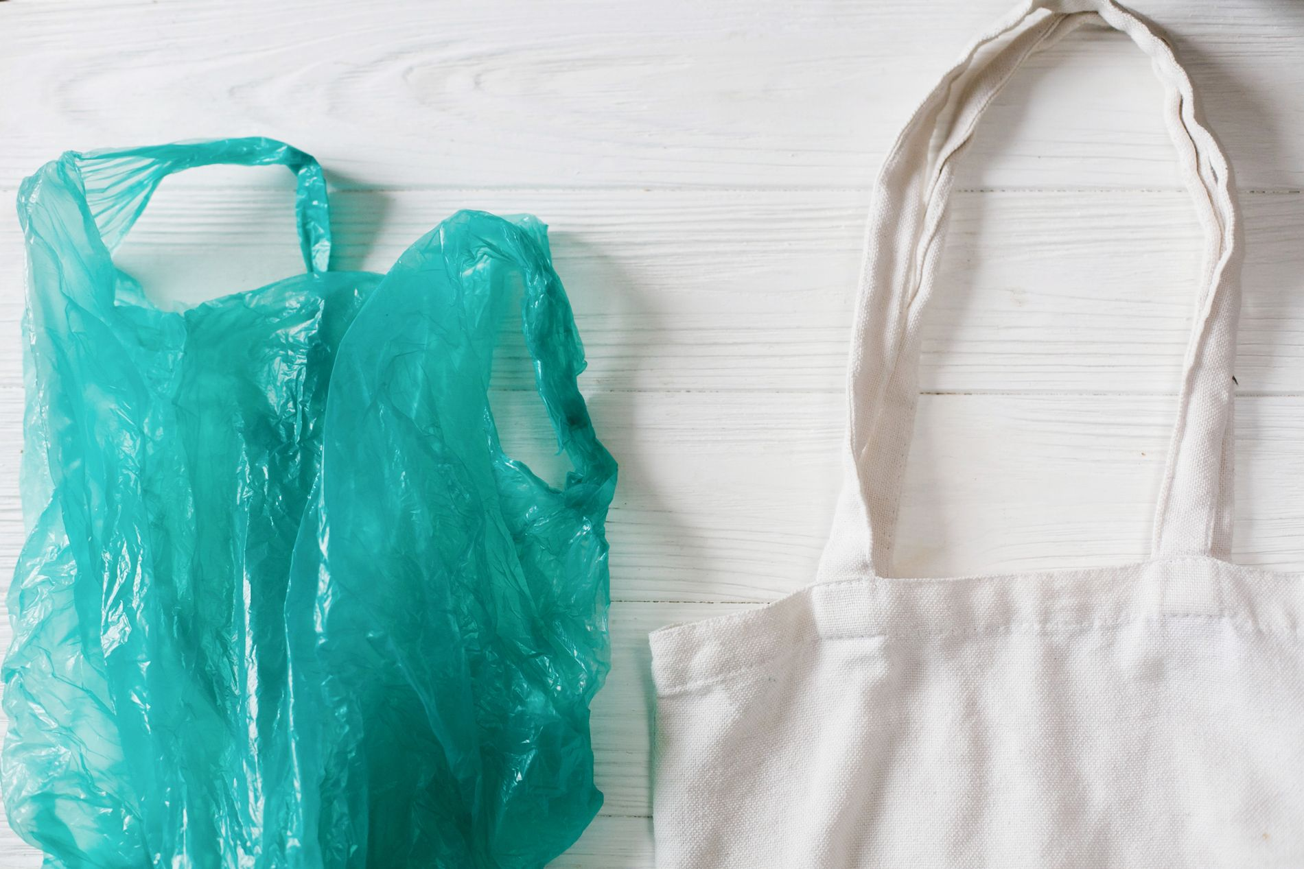 MILJØVENNLIG: I Italia så jeg ikke én plastpose i butikkene. Folk brukte heller medbrakte nett, eller kjøpte bioplastposer, skriver Solbjørg Skjønhaug Sviland.