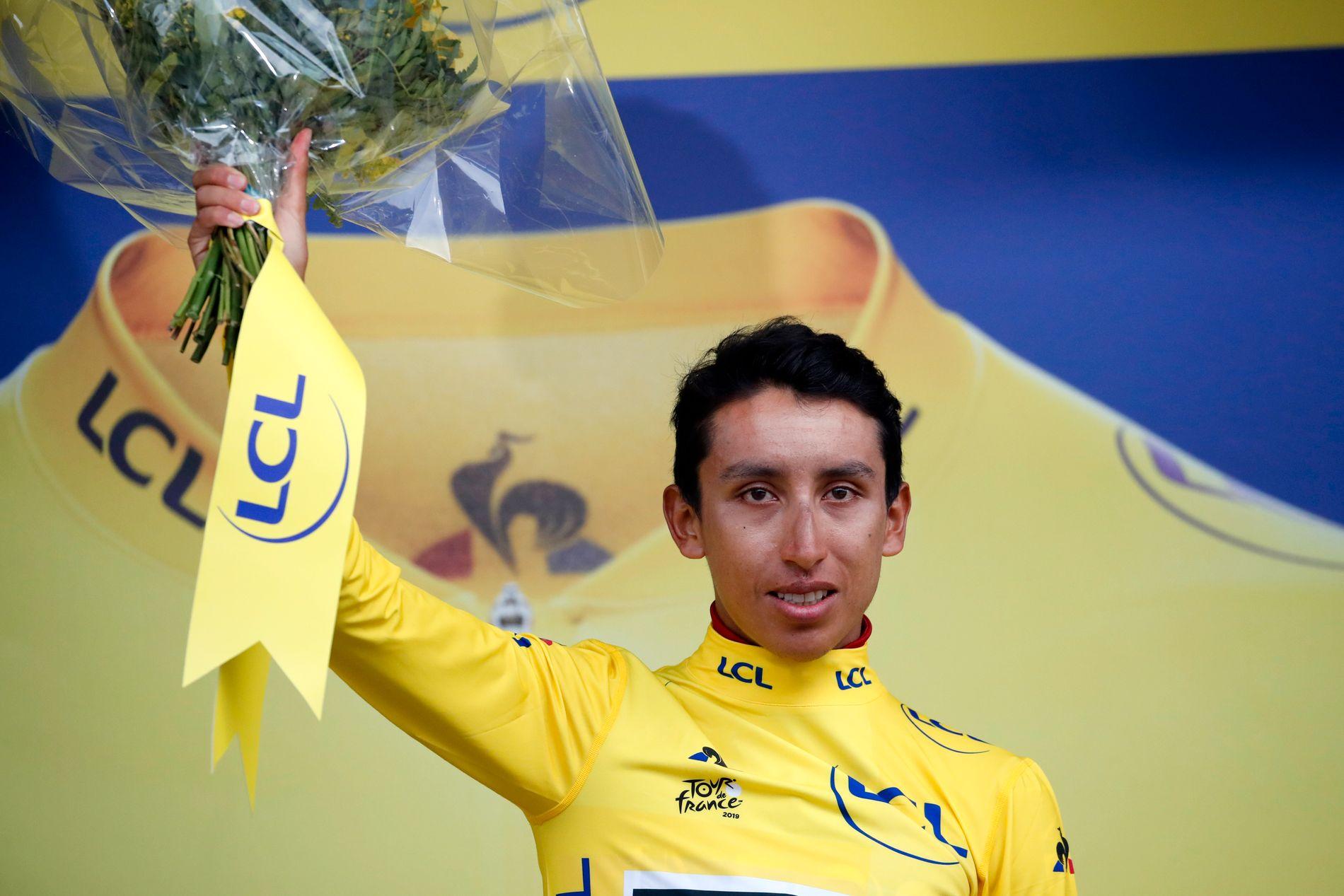 Egan Bernal er nå storfavoritt til å vinne Tour de France.