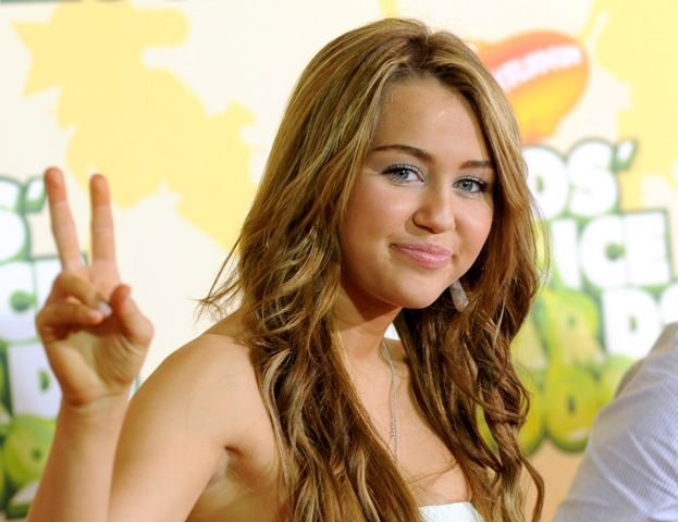 Miley Cyru, mest kjent som Hanna Montana. Foto: AP