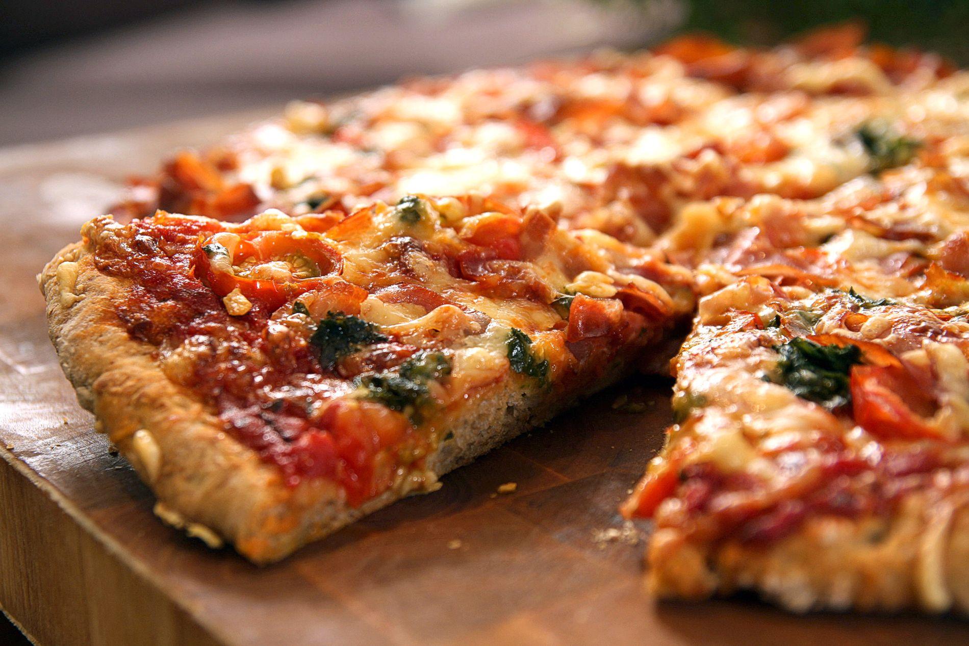 FEIL: Å bestille pizza på fransk kan by på nye (ikke planlagte) smaksopplevelser.