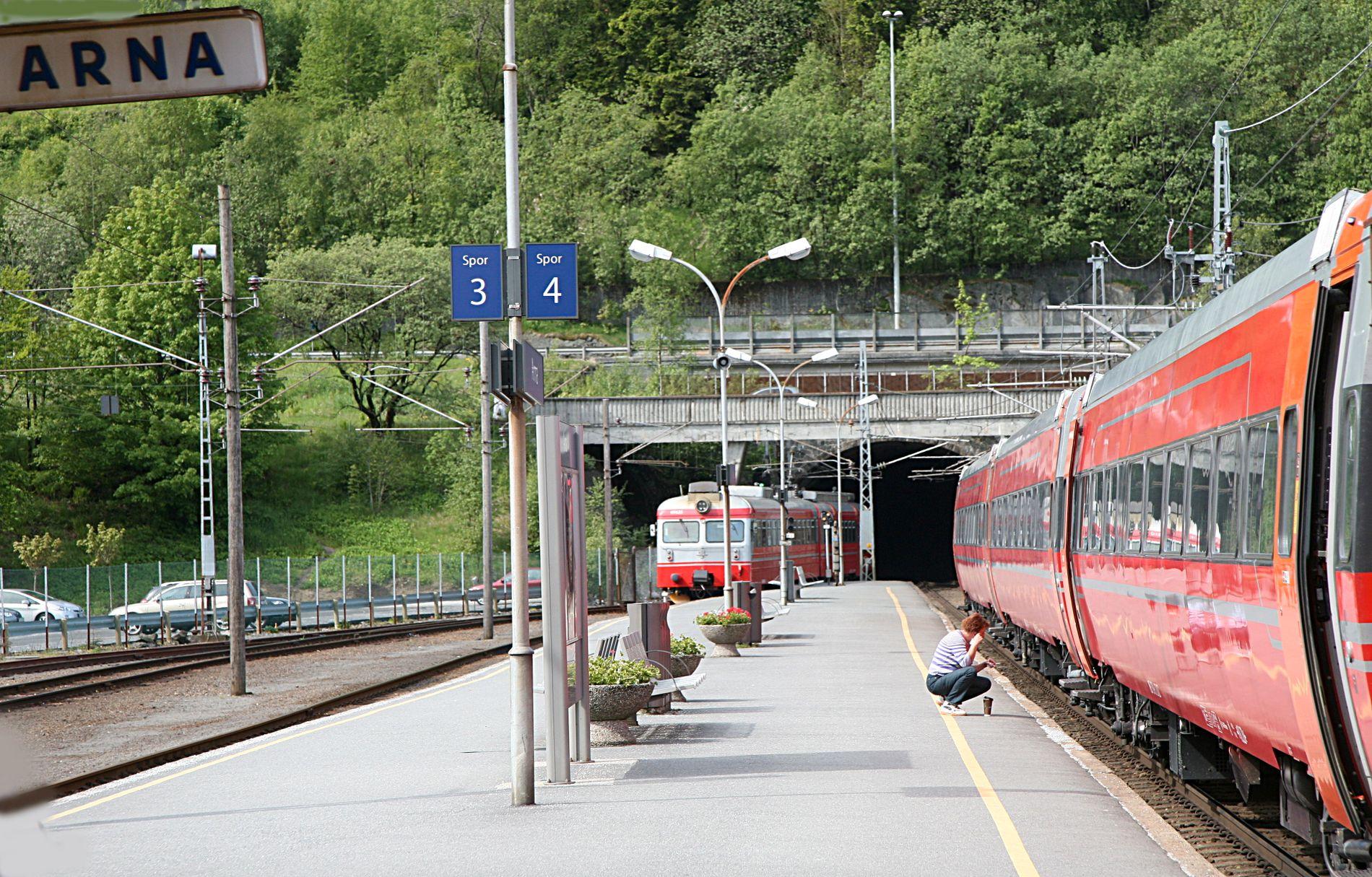 FORSINKA: Dobbeltsporet Arna-Stanghelle får ikkje oppstart før i perioden 2024-2029.