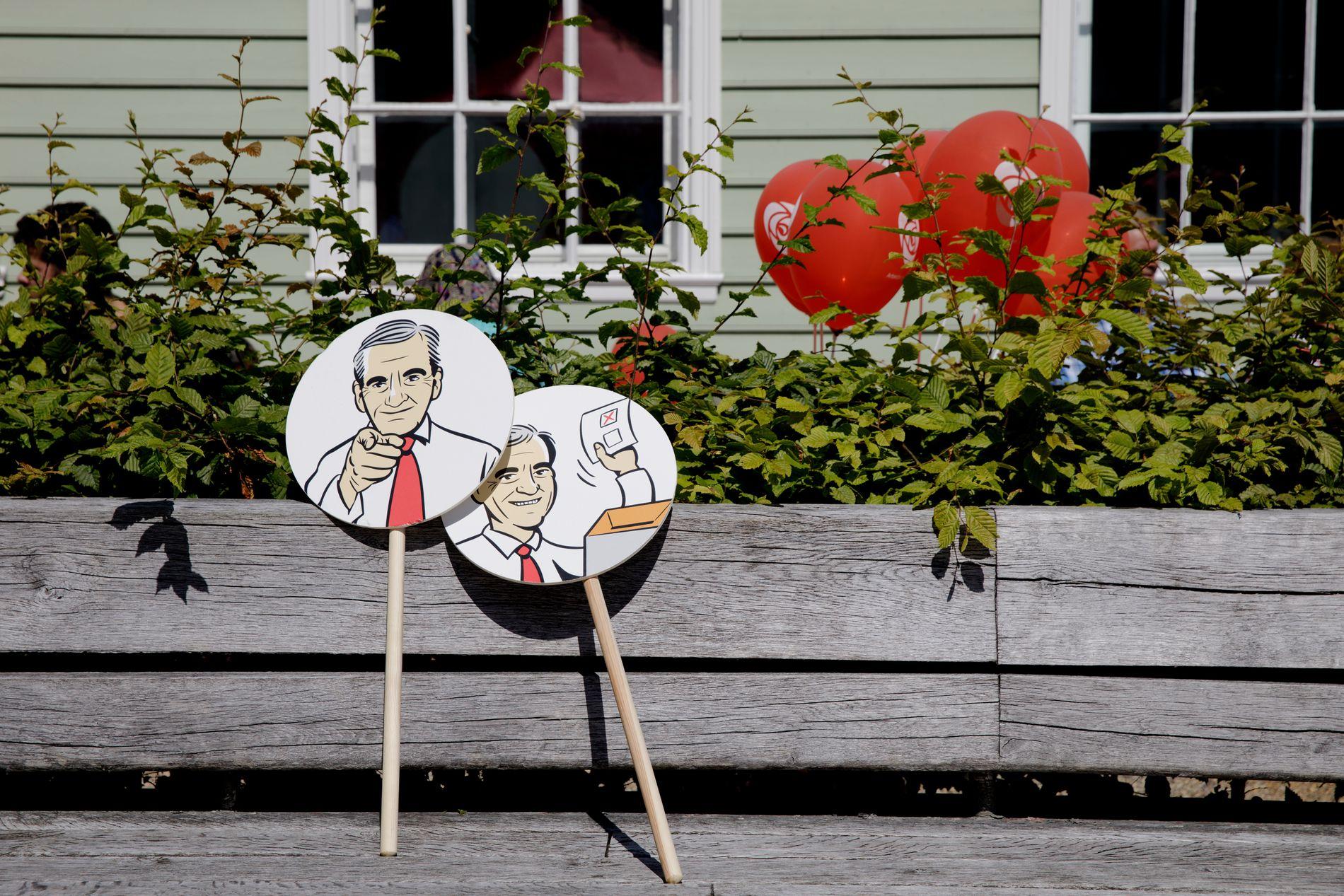 VALGKAMP: Arbeiderpartiet satte for alvor i gang sin valgkamp på Cornerteateret.