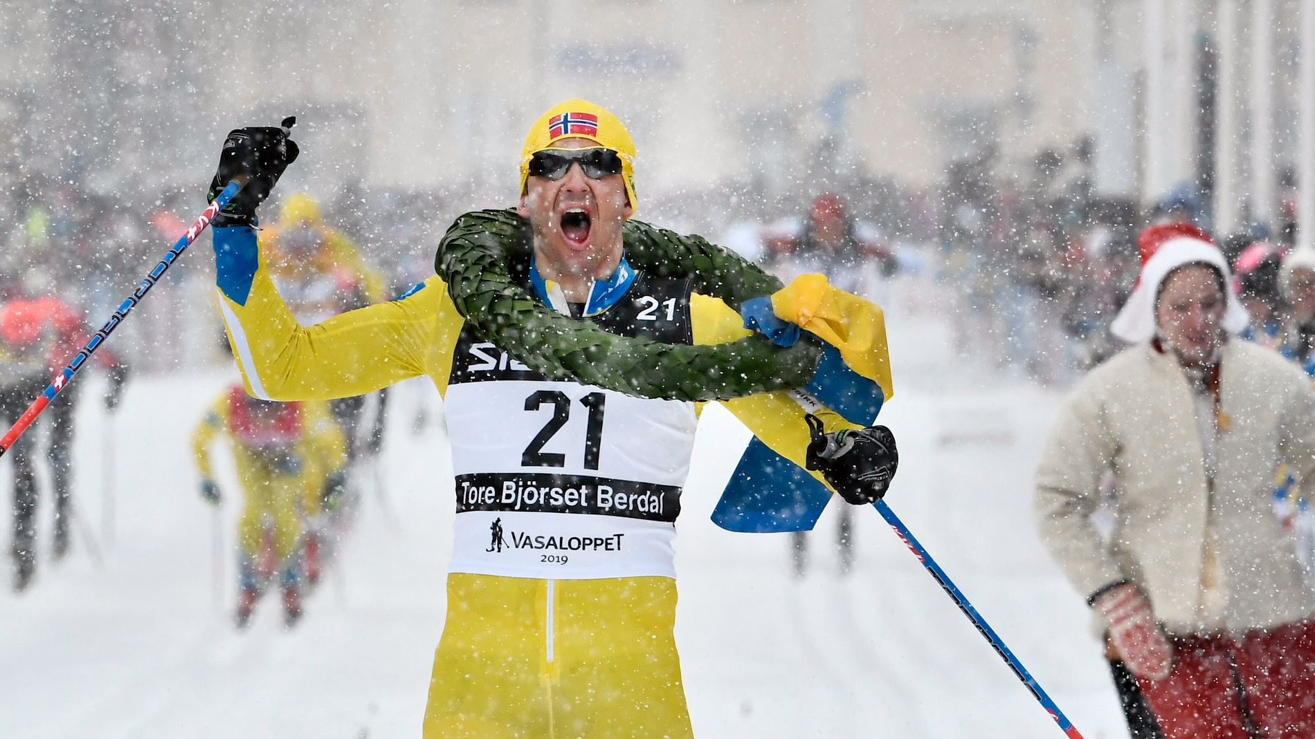 Tore Bjørseth Berdal vant Vasaloppet i år.