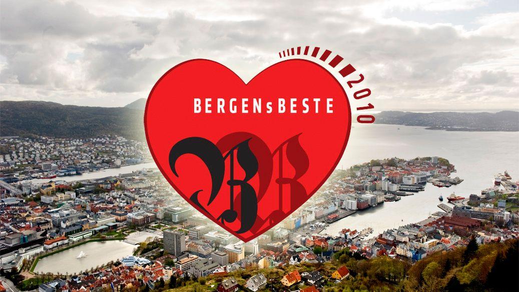 VALGT AV FOLKET: Bergenserne plukket ut det beste Bergen har å by på i 20 kategorier.