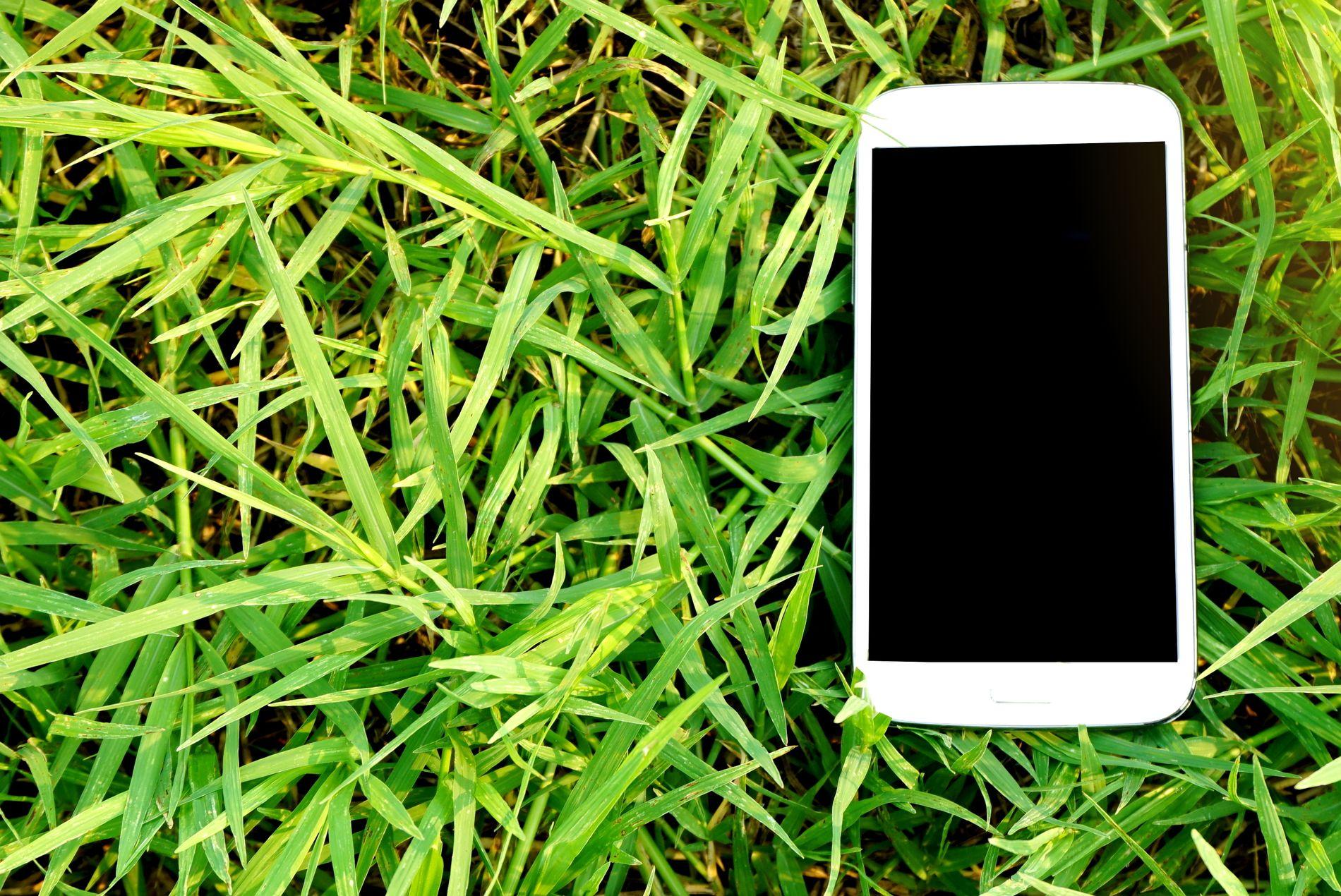 LOGG AV: Smartelefonen din har mange kjekke appar og funksjonar. Den beste for deg i sommar er nok funksjonen «skyv for å slå av», meiner Lars Andreas Bysheim Myklebust.