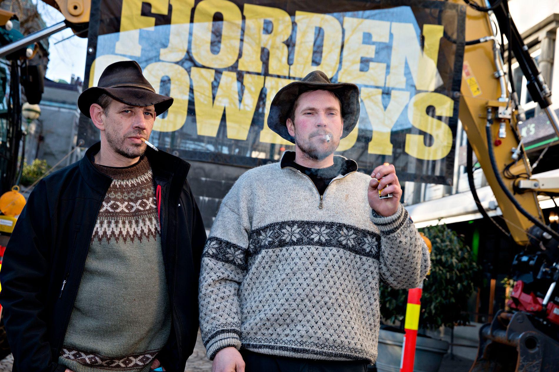 FJORDEN: Lothepus og Joar Førde setter seerrekorder på TV 2 Zebra med «Fjorden Cowboys».