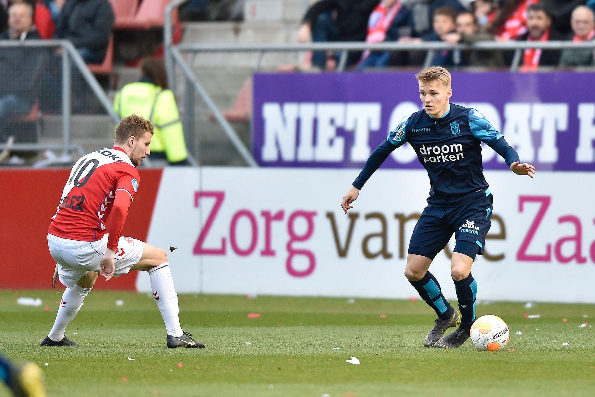 Martin Ødegaard i aksjon tidligere denne sesongen.