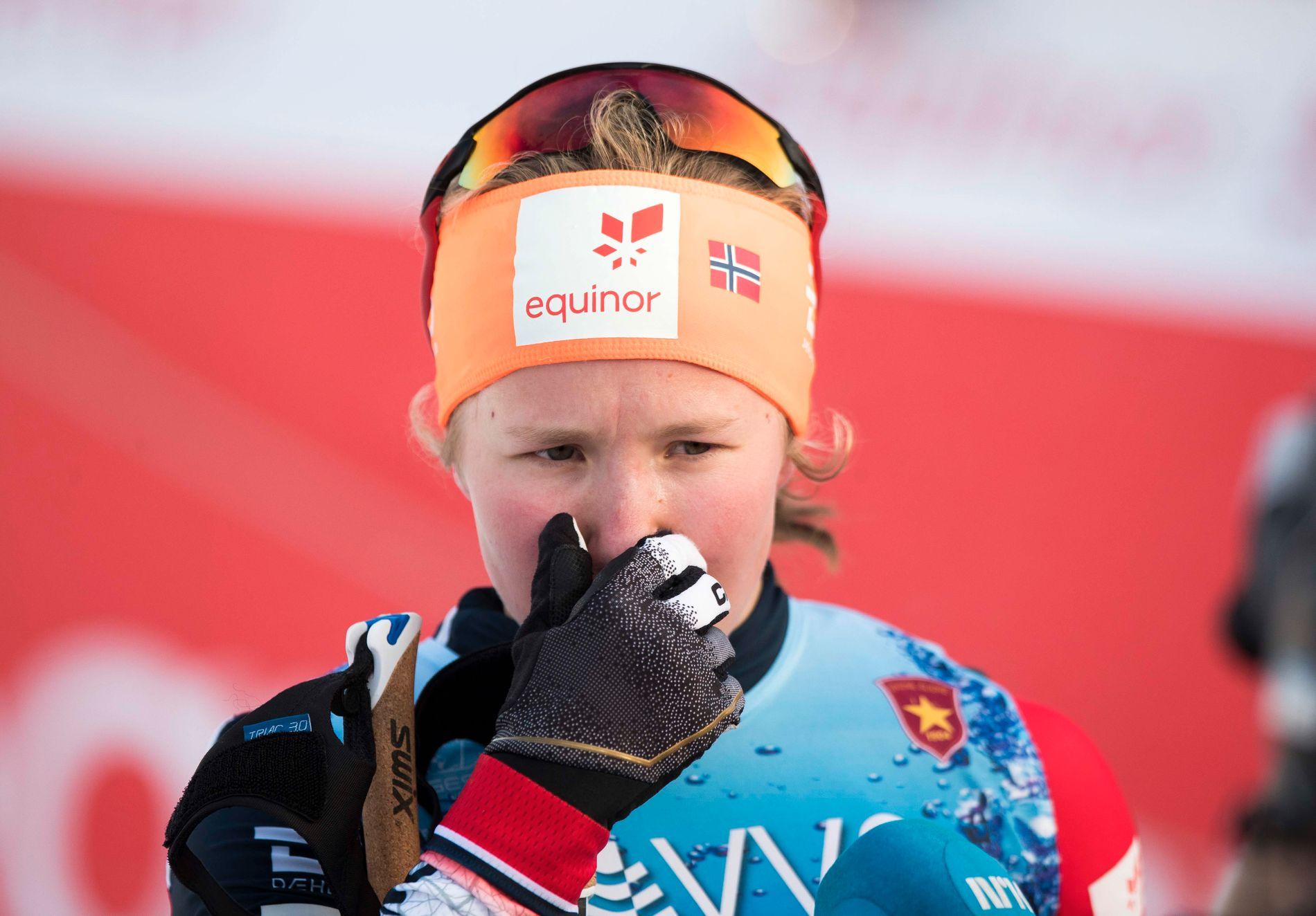 kiløper Helene Marie Fossesholm er en del av juniorlandslaget i langrenn for sesongen 2019/2020.