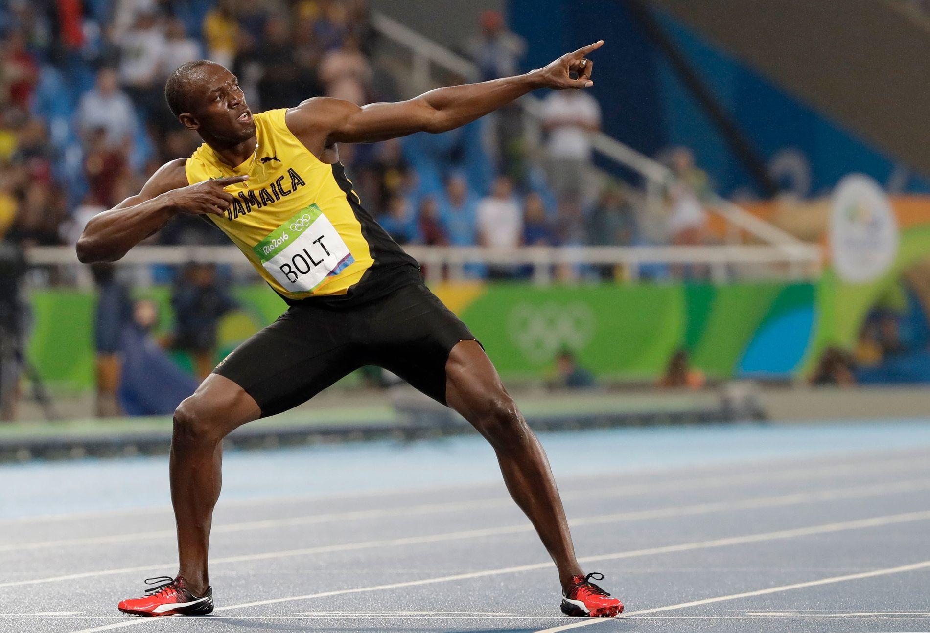 Usain Bolt regnes av mange som tidenes beste friidrettsutøver.