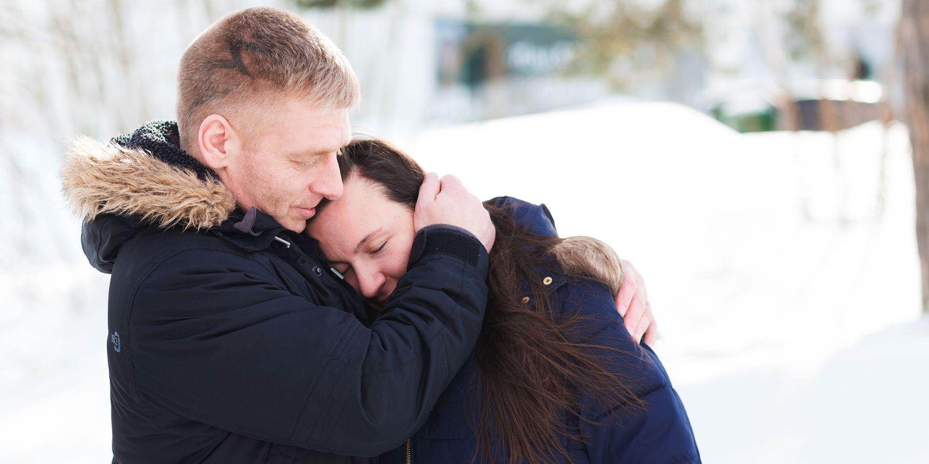 VANT FREM: Ken Joar Olsen og Vibeke Morrisey ga aldri opp kampen om å få datteren tilbake. De lyktes til slutt, og snart skal saken deres behandles av Den europeiske menneskerettsdomstolen.