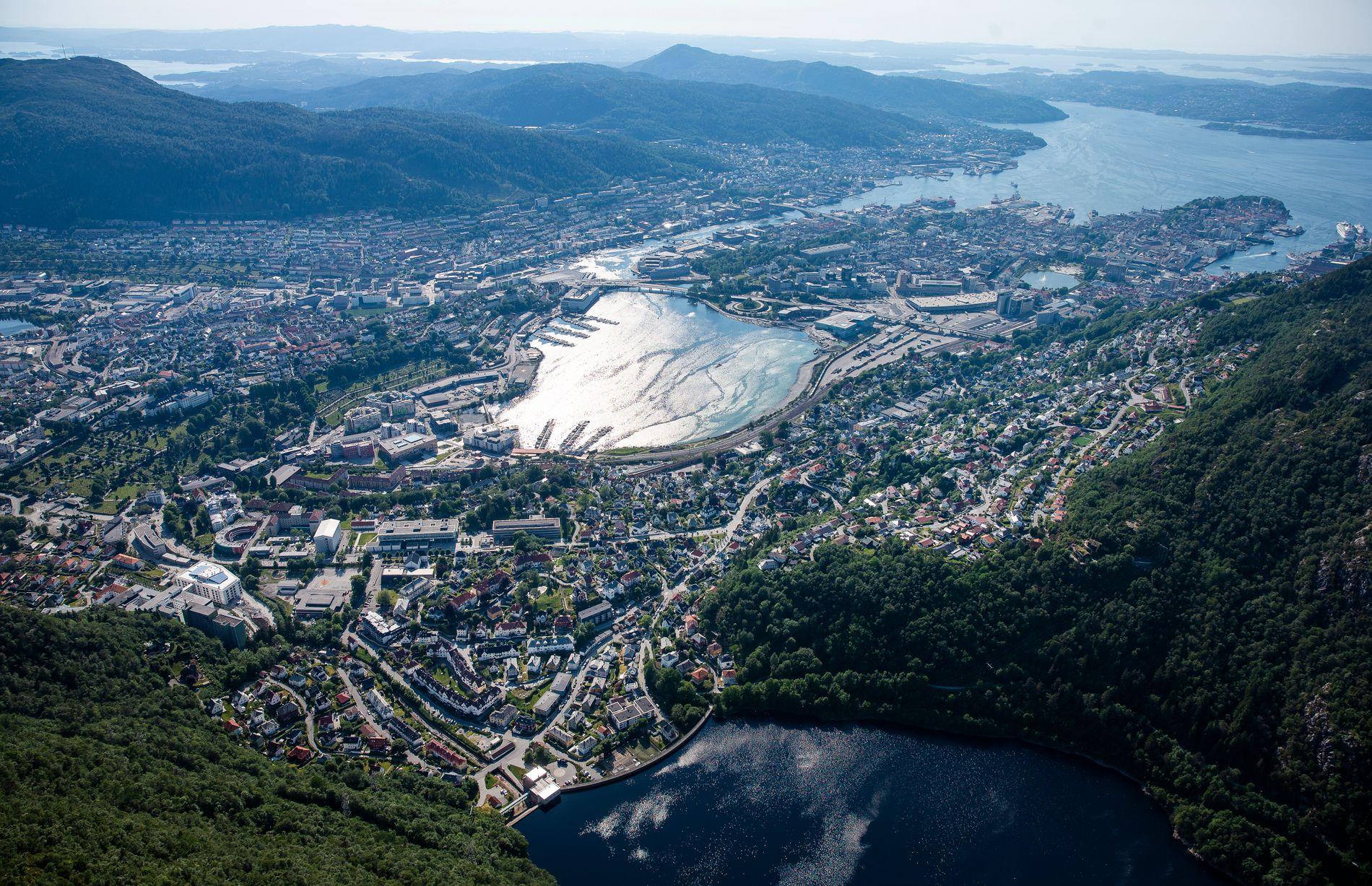 UNIKT: Sivilarkitekt Marianne Skjulhaug mener byrommet i Bergen skiller seg ut fra andre byer i Norden.