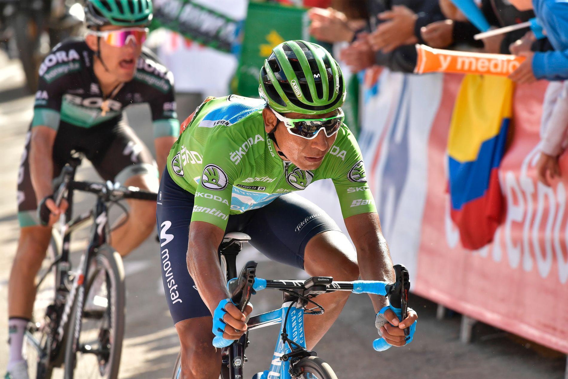 Nairo Quintana tok seg tilbake i kampen om sammenlagtseier i Vuelta a España da han satt med i et vellykket brudd på onsdagens etappe.