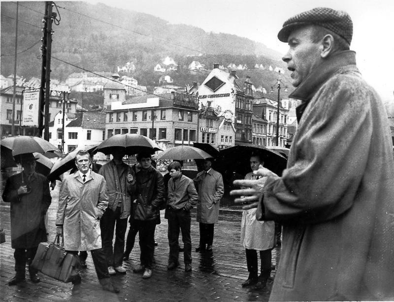 BT-journalisten Gunnar Garbo trådte inn i Bergenspolitikken, men kom snart på kant med både eget partilag og egen avis