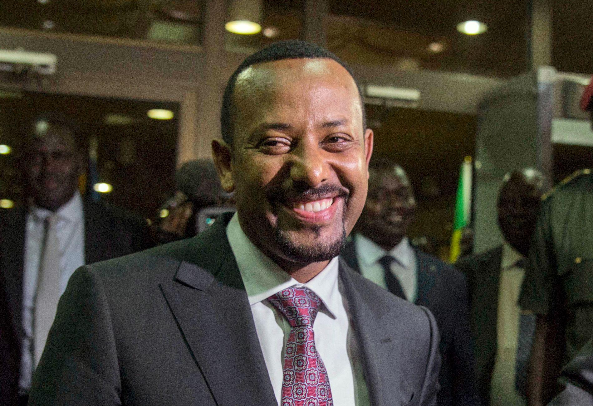 BELITET SEG: Det er en stemning kjennetegnet av kjærlighet og optimisme i Addis Abeba og Asmara for tiden. Fordi lederne har belitet seg, skriver innsenderen.