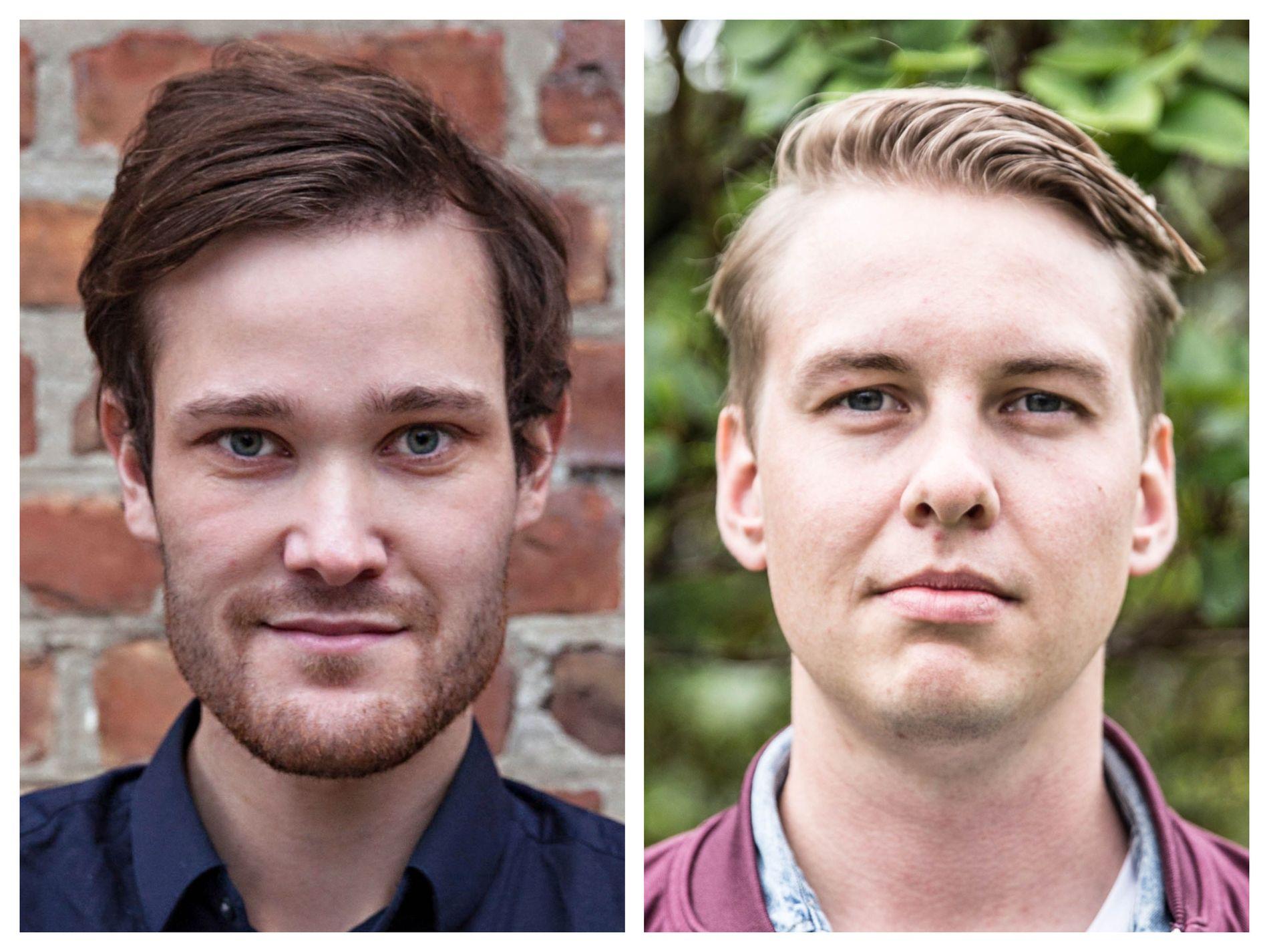 SPØR: Truls-Einar Johnsen og Nikolai Klæboe har noen spørsmål til Folkeaksjonen Nei til mer bompenger.