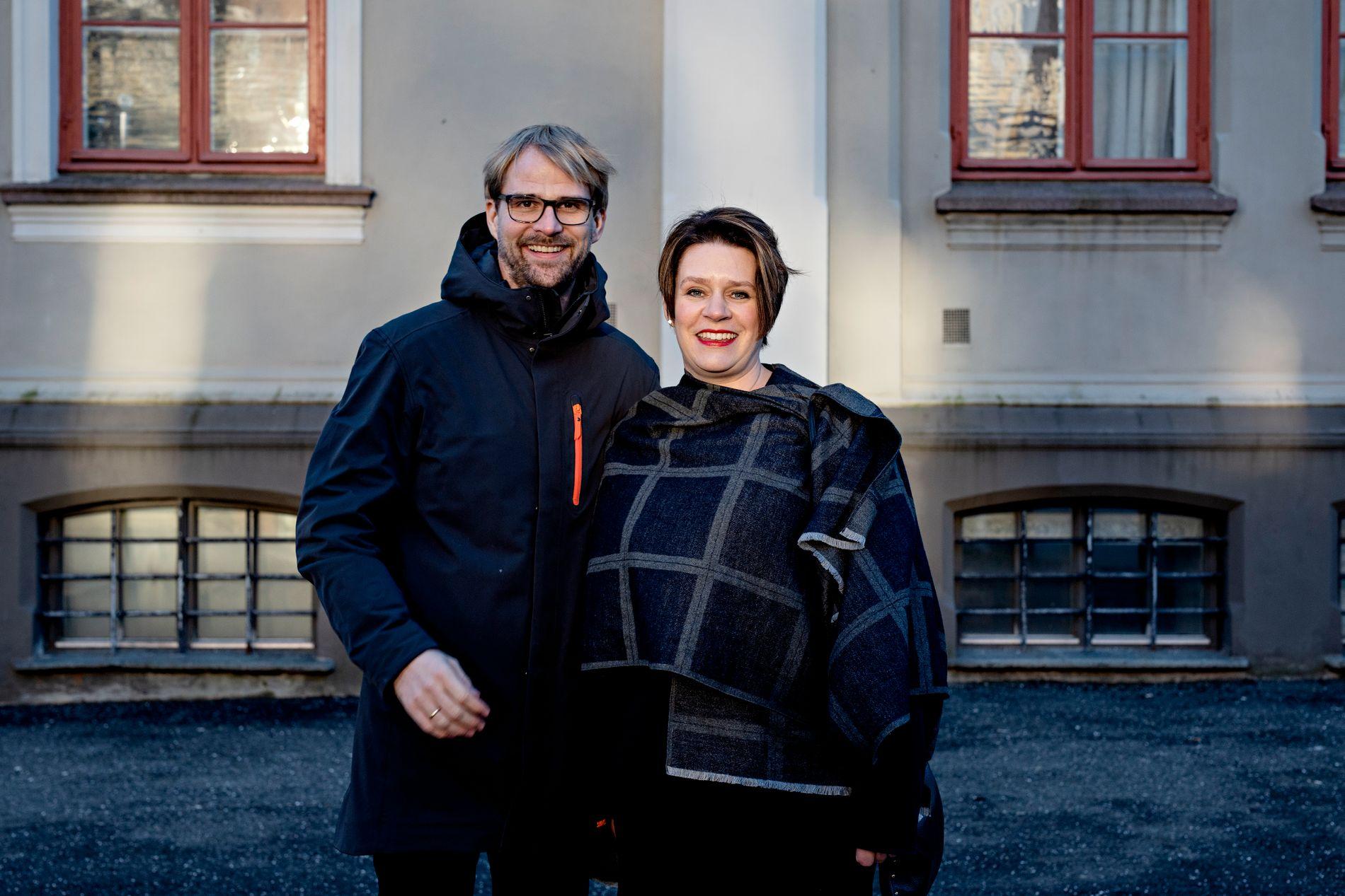 MYE ENIGHET: Både Roger Valhammer og Marte Mjøs Persen er Ap-kandidater til å bli byrådslederkandidat i Bergen. I dette innlegget skriver de om saker de er enige om.