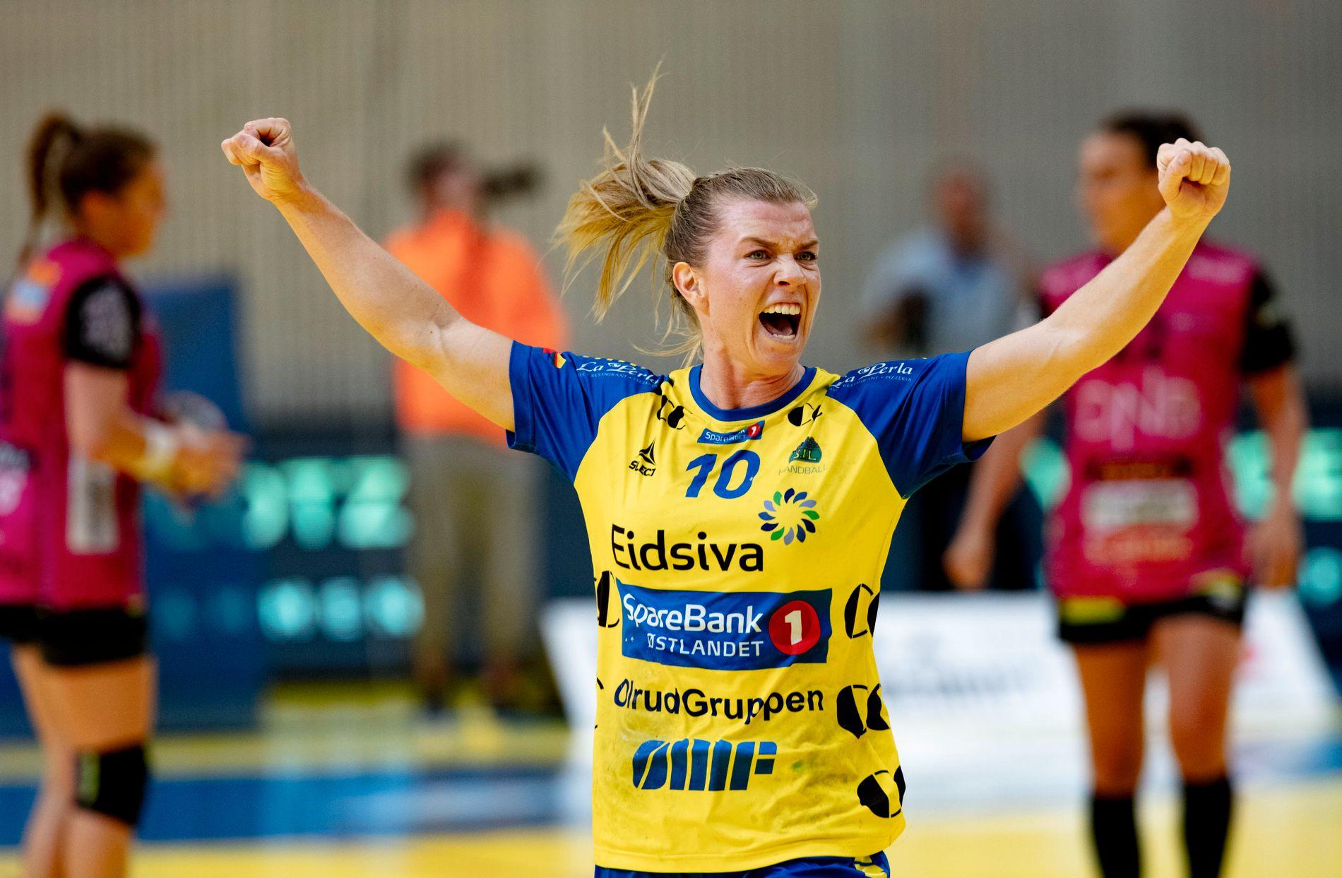 Storhamars trønderske komet, Kristin Venn, scoret årets mål.
