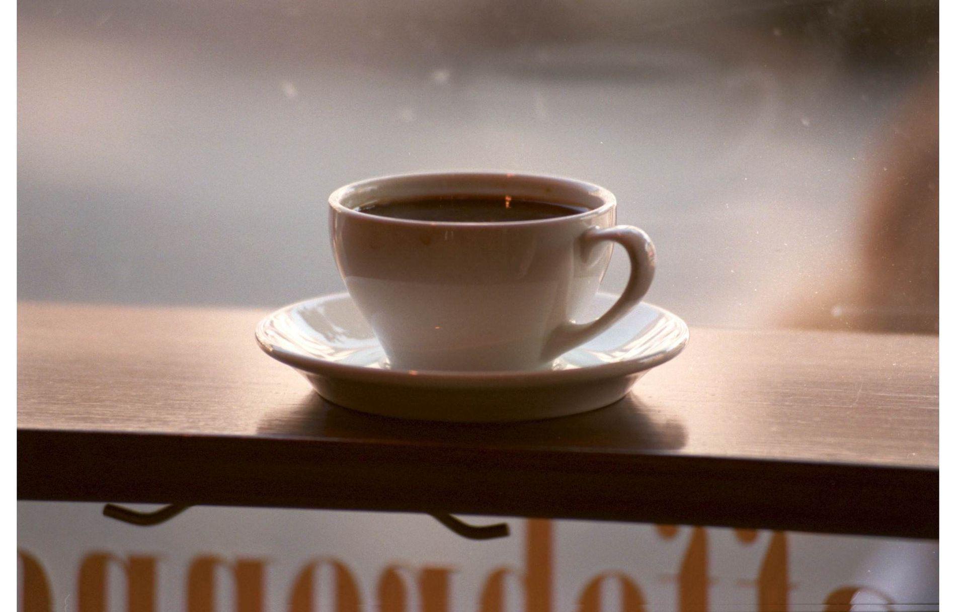 MÅ HA DET: En dobbel espresso i kveldingen, kan det være så galt?