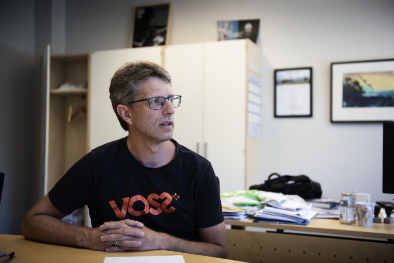 ORDFØREREN: Hvorvidt ordfører Hans-Erik Ringkjøp (Ap) i Voss kommune får samme rolle i nye Voss herad, er ett av få spenningsmomenter i det kommende valget.