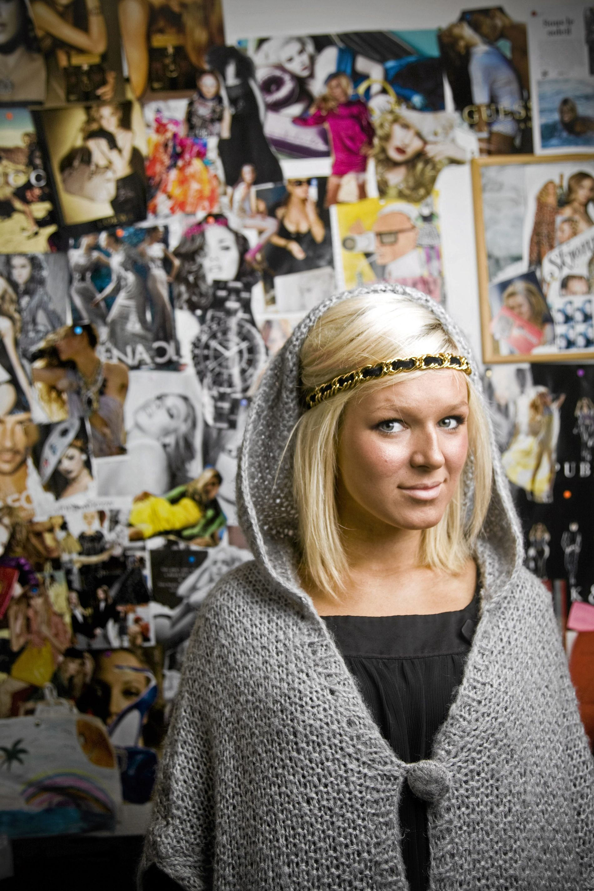 KJENDISBLOGGER: Ulrikke Lund har Norges fjerde største blogg, med 40.000 daglige lesere.