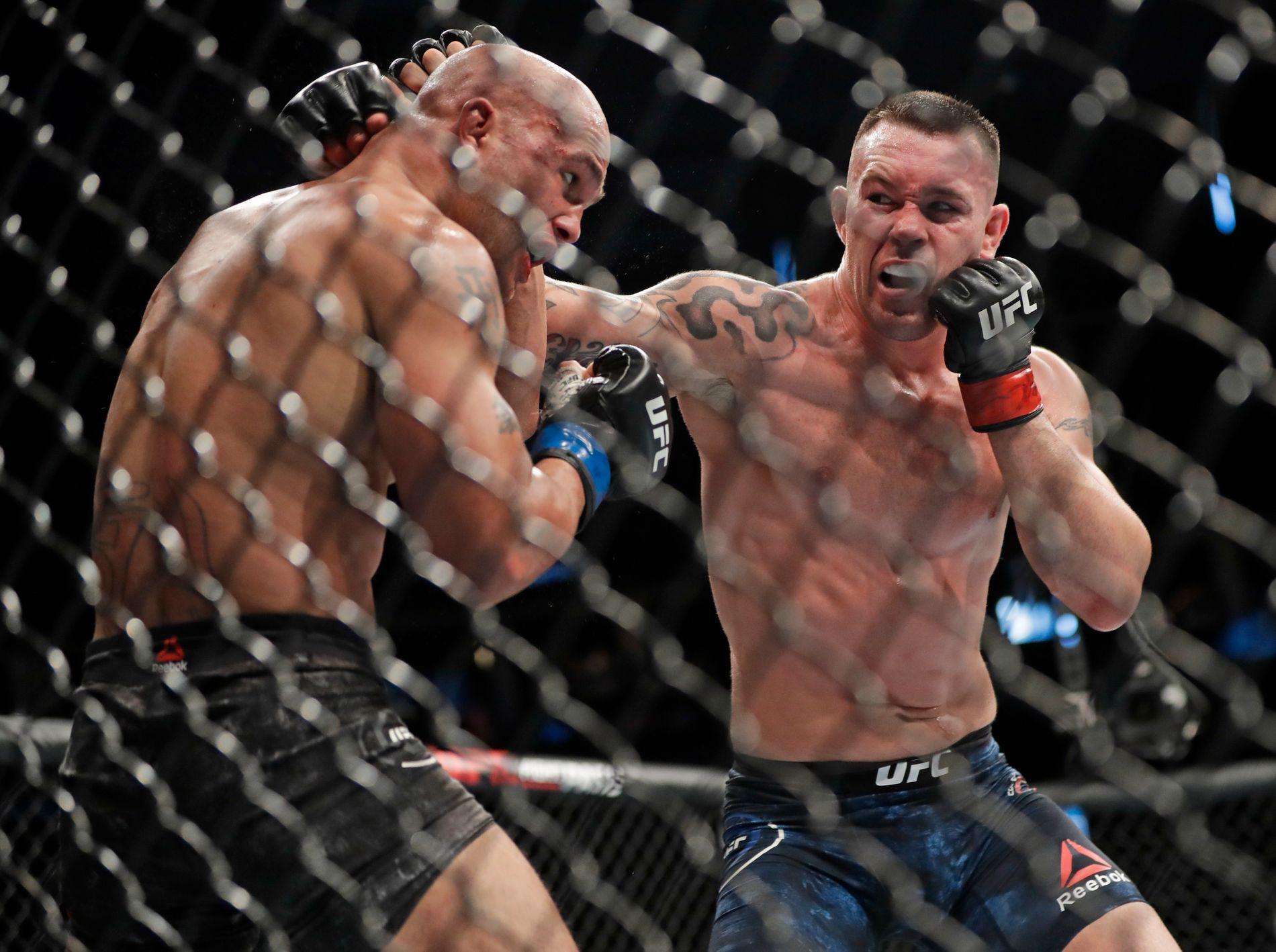 Colby Covington slo natt til søndag Robbie Lawler i MMA-organisasjonen UFC.
