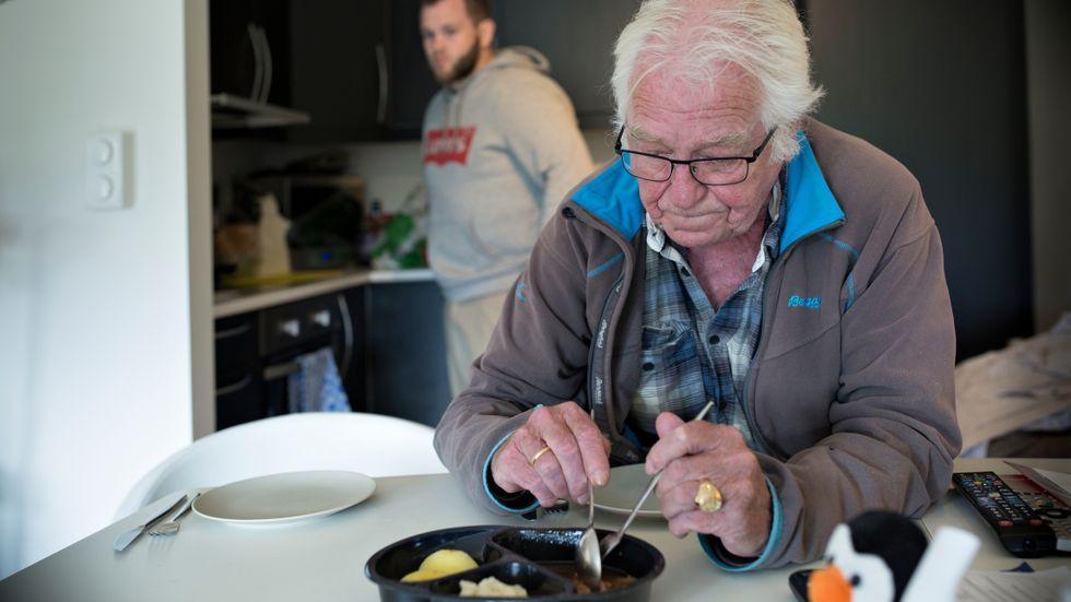 ELDREOMSORG: Jeg håper bergenserne vil bruke sin stemmerett på et parti som ønsker mer valgfrihet for byens eldre, skriver Marte Monstad. På bildet: Helge Torgersen (75).