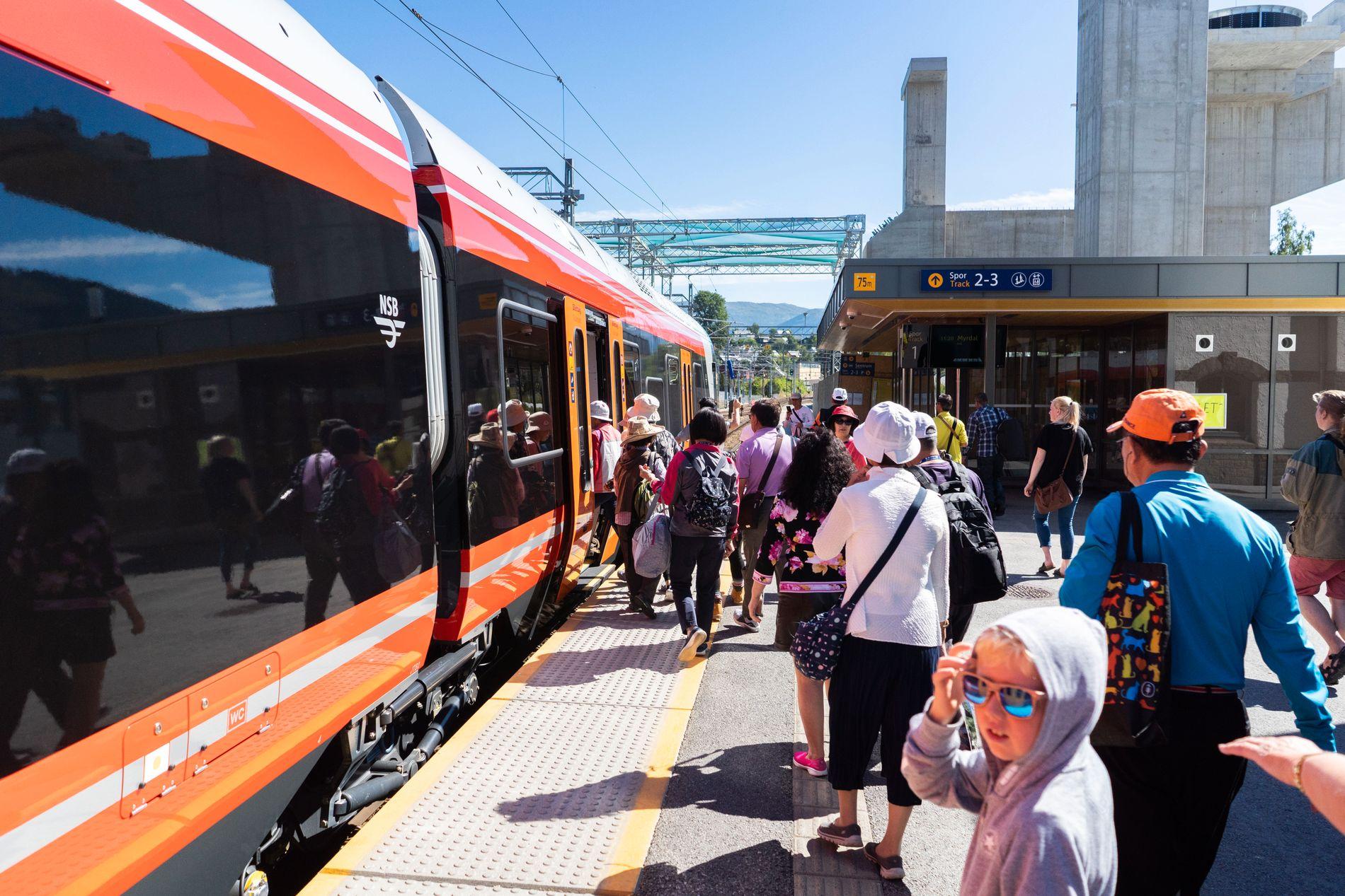 ENKLERE: Skal vi få mer gods på jernbane og flere togpassasjerer mellom storbyene, må gods- og persontogene enklere kunne krysse grensene, skriver samferdselsministeren.