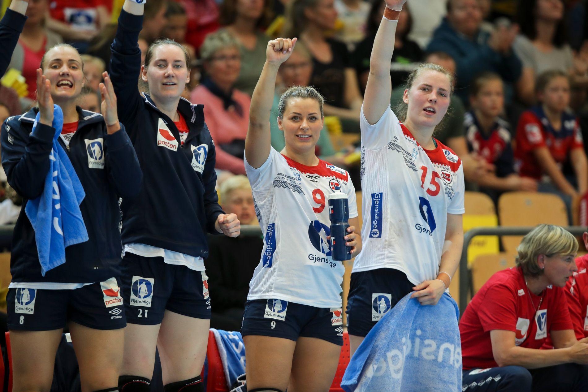Nora Mørk og Håndballjentene har fått ny sponsor.