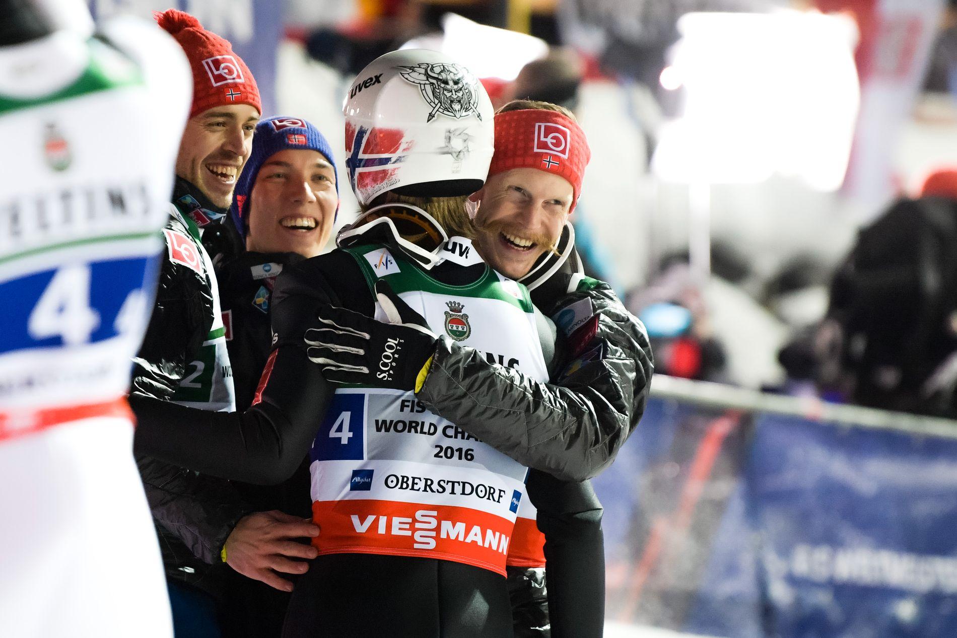 Det norske laget kunne juble for gull.