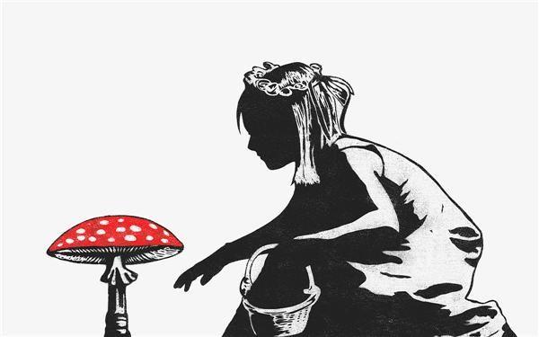SOLGT: To eksemplarer av «Mushroom girl» ble lagt ut på eBay til dobbel pris kort tid etter de ble kjøpt tirsdag formiddag. Klikk på bildet for å se flere verk av Dolk.