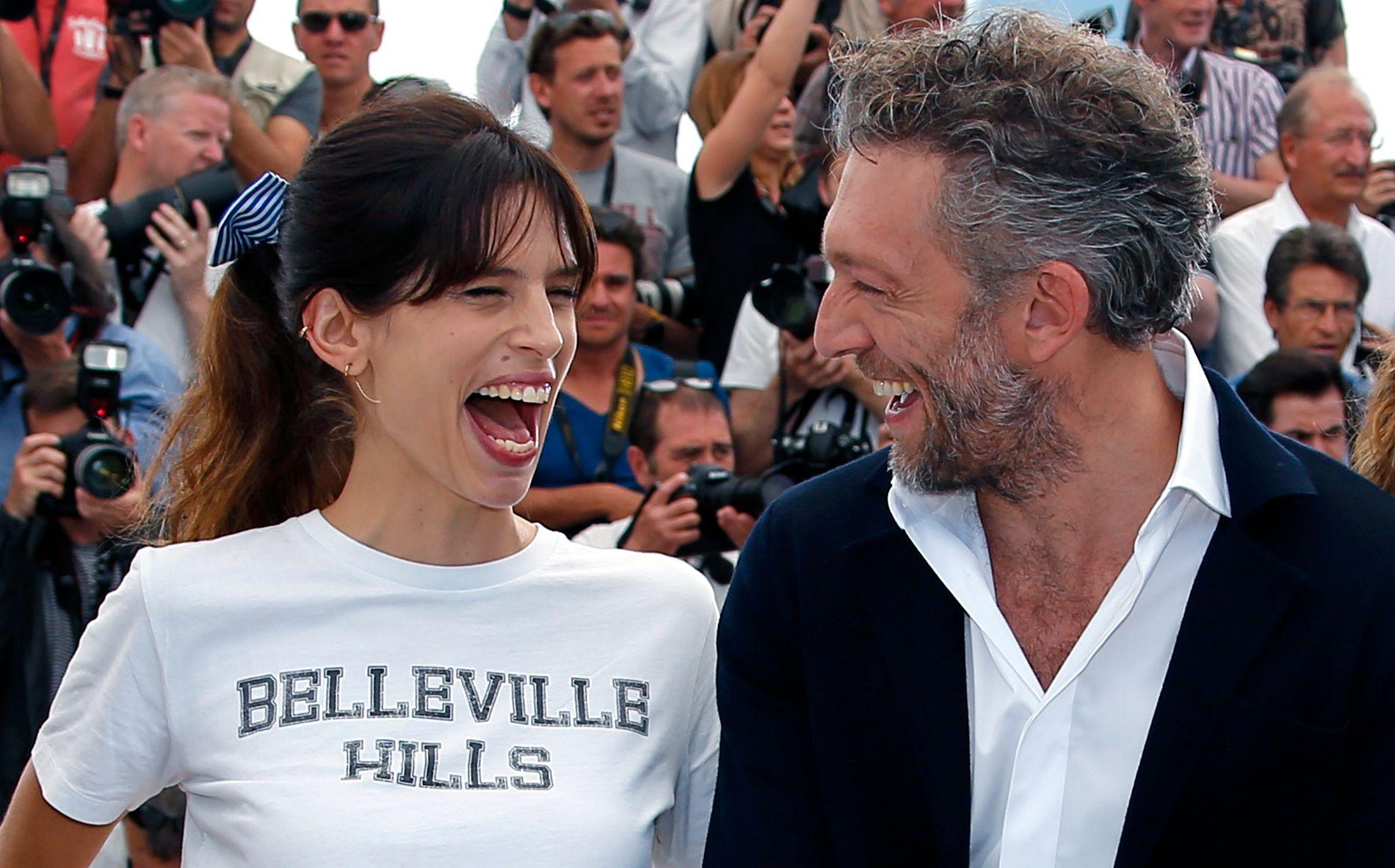 CANNES: Maïwenn og Vincent Cassel sammen i Cannes før verdenpremieren.