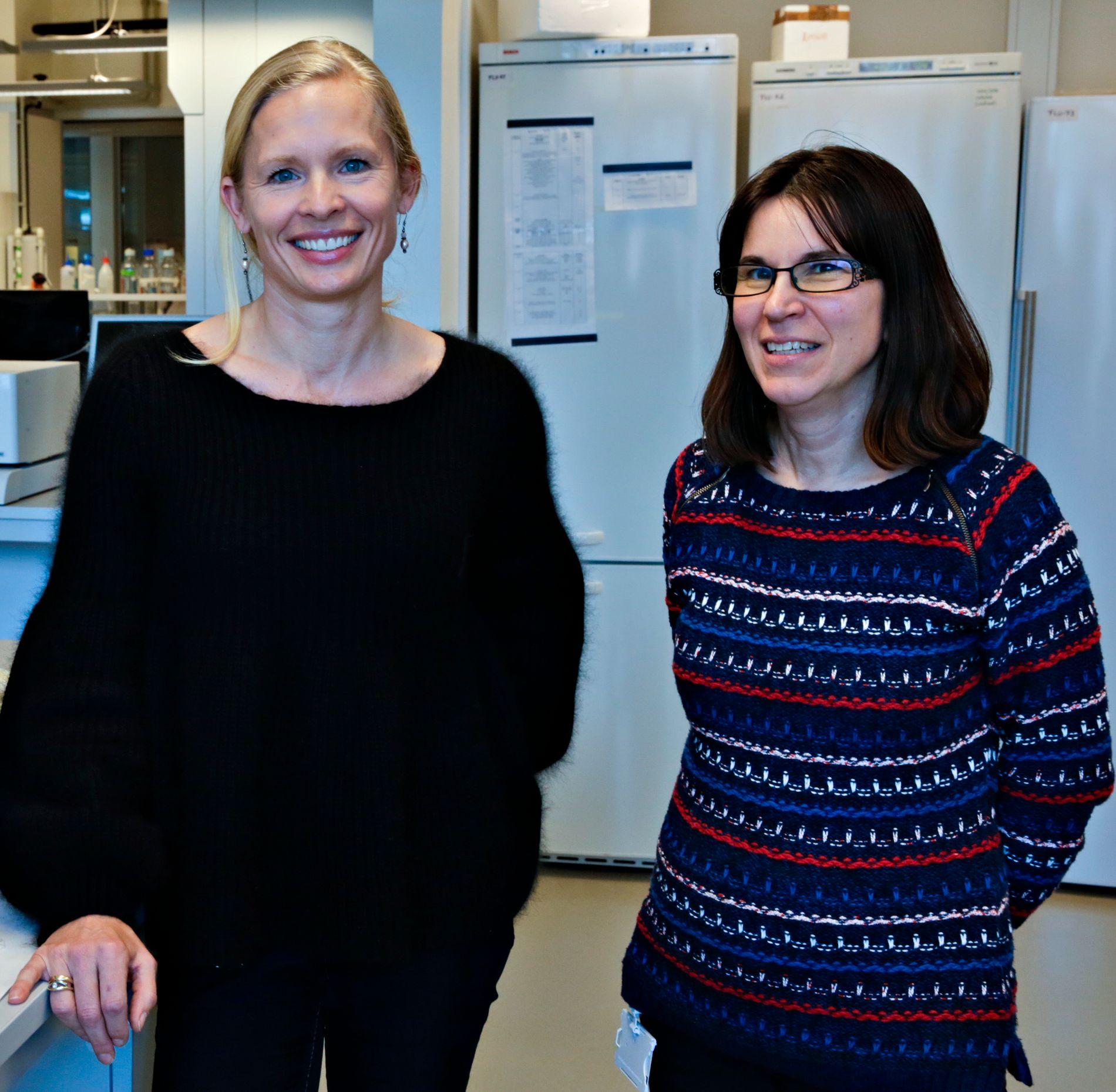 FARLIG: Barnet i magen har også øket risiko for sykdom dersom mor blir syk med influensa, skriver Kristin G-I Mohn og Rebecca Cox.