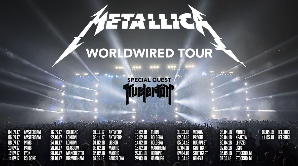 Metallicas nettside.