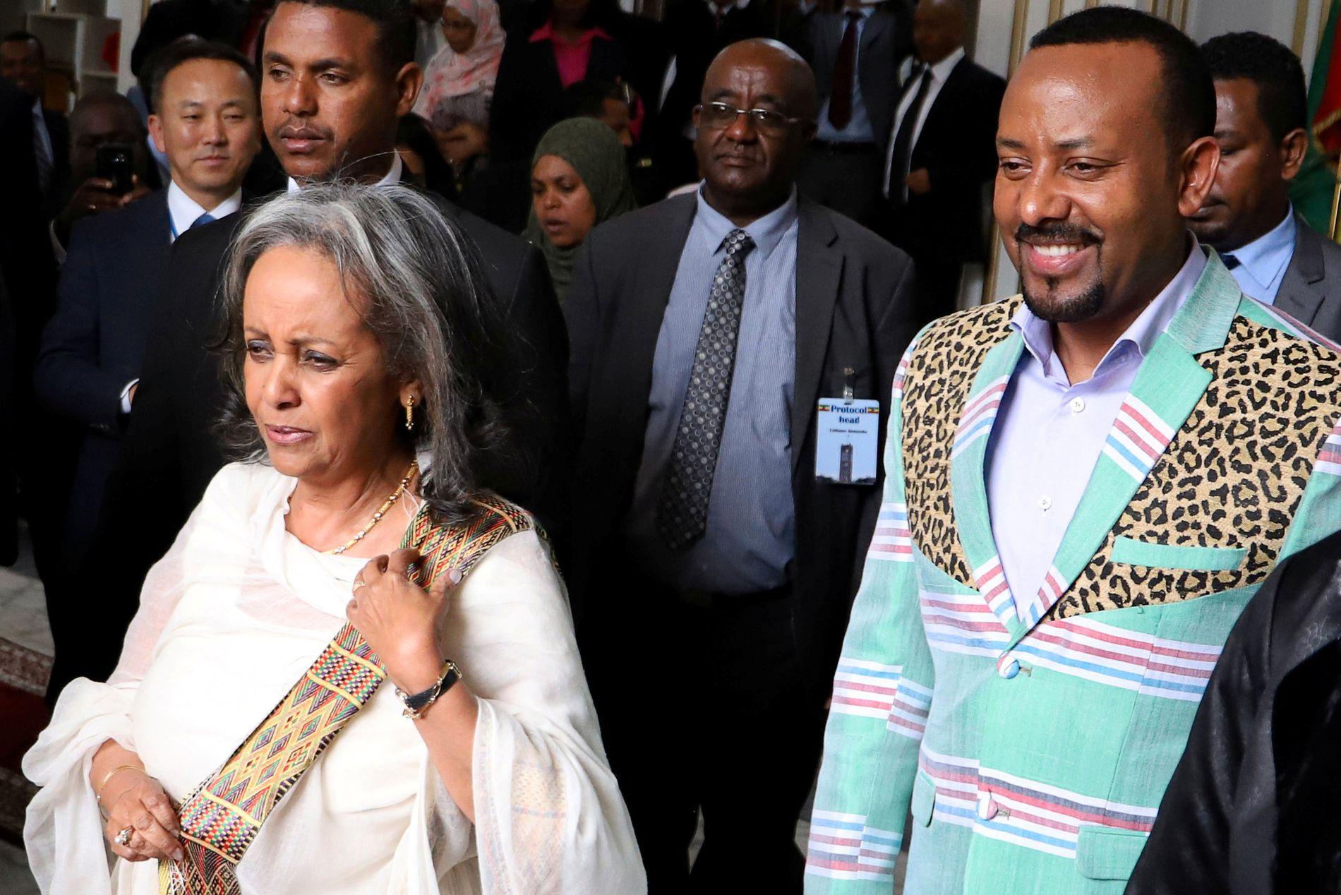IMPONERENDE: Etiopia har hatt en gjennomsnittlig årlig vekst på imponerende ti prosent de siste ti årene, skriver Jens Frølich Holte i UD. Statsminister Abiy Ahmed har lansert en rekke reformer, og i hans regjering er halvparten kvinner.