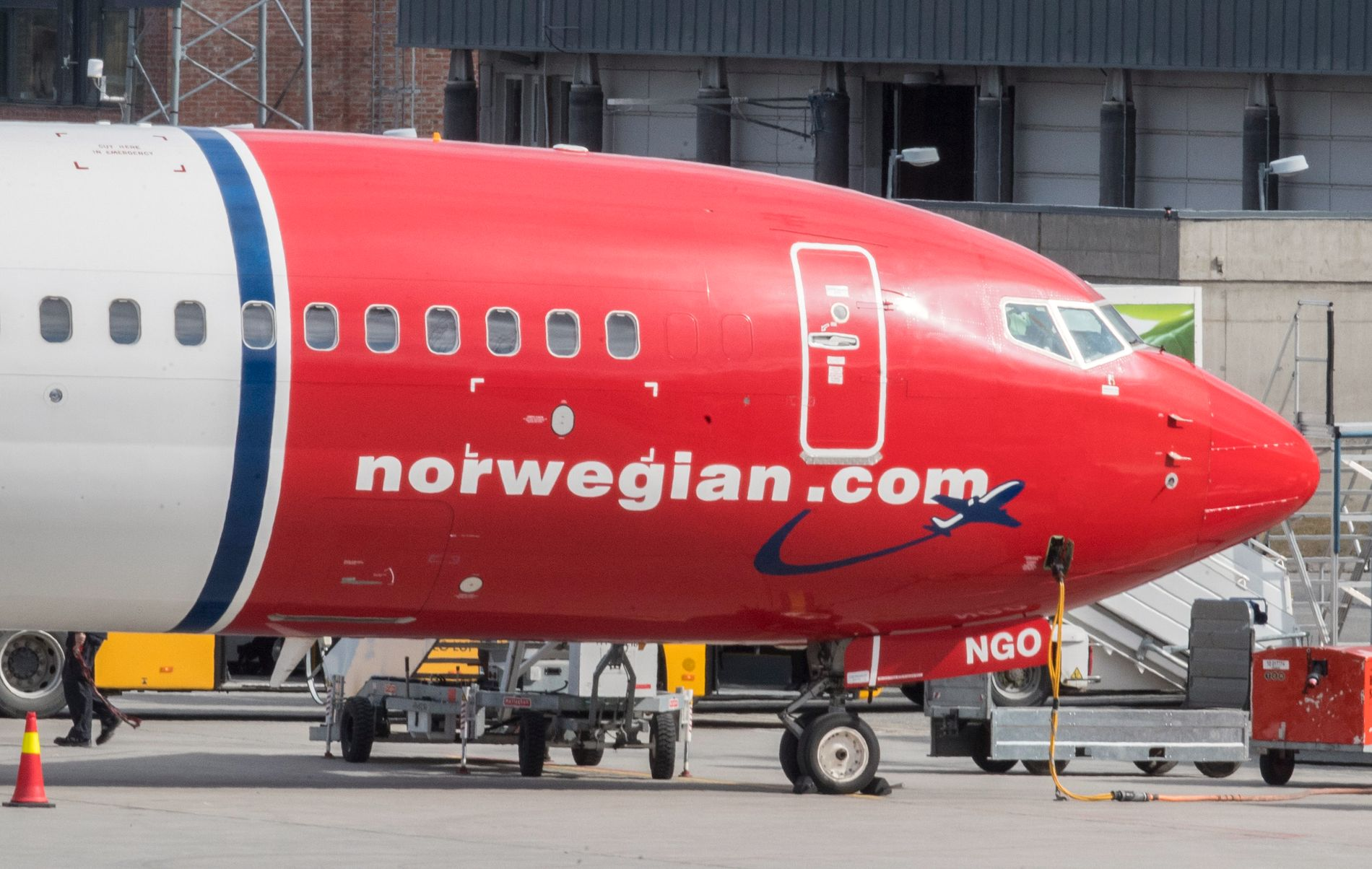 Norwegian fly har bedt om forlengelse på lån, men låneeierne foreslår en alternativ løsning.  Foto: Vidar Ruud / NTB scanpix