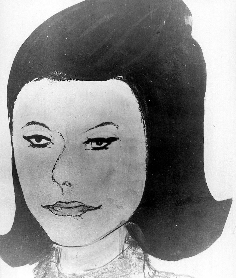 ISDALSKVINNEN: Etter å ha studert det sterkt forbrente liket kom tegneren Audun Hetland til atIsdalskvinnen måtte ha sett omtrent slik ut da hun dro opp i Isdalen i november 1970. TEGNING: AUDUN HETLAND (ARKIV)