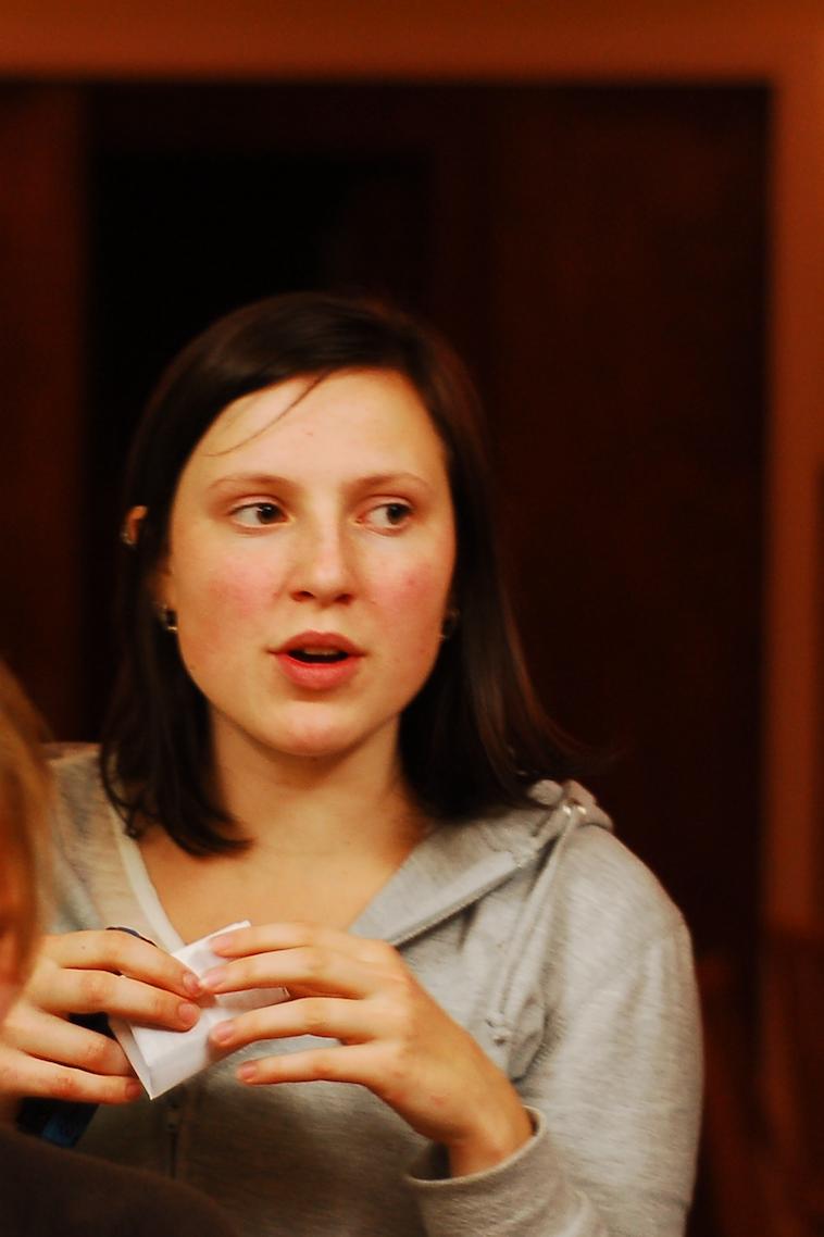 I UNGDOMMEN: Sofie Marhaug på Rød Ungdoms høstleir 2007.