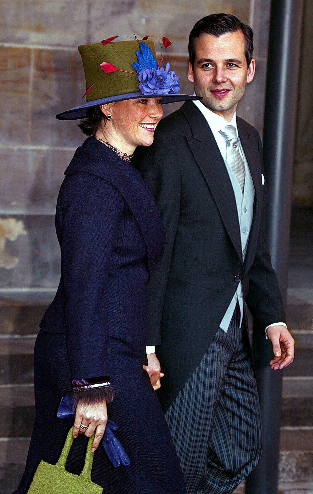 BRYLLUP: Prinsessen og Ari Behn i bryllupet til kronprins Willem-Alexander og prinsesse Maxima i Amsterdam, Nederland. De ble gift 2. februar 2002, samme år som Märtha Louise og Ari Behn.