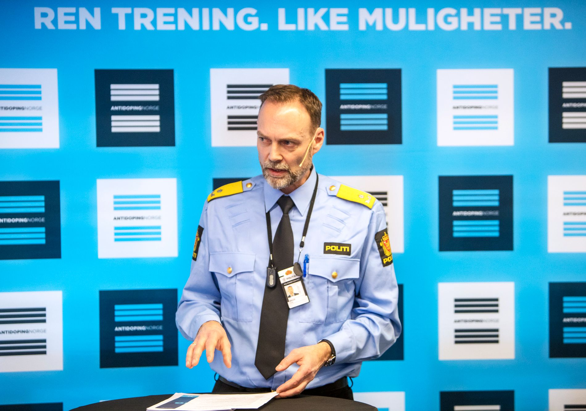 Harald Bøhler er seksjonssjef i Politidirektoratet og ser ikke for seg et dopingpoliti.
