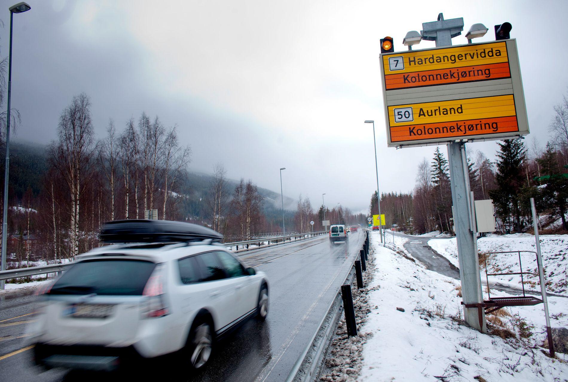 Vi var svært glade for at Riksvei 7 skulle bli hovedvei mellom øst og vest, og forventet at det ble fulgt opp med bevilgning av penger for å utbedre veien, spesielt over Hardangervidda slik at veien kunne holdes åpen om vinteren, skriver innsender.