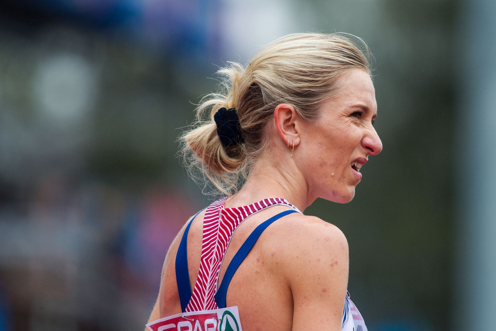 Karoline Bjerkeli Grøvdal løp et positivt løp i Zürich.